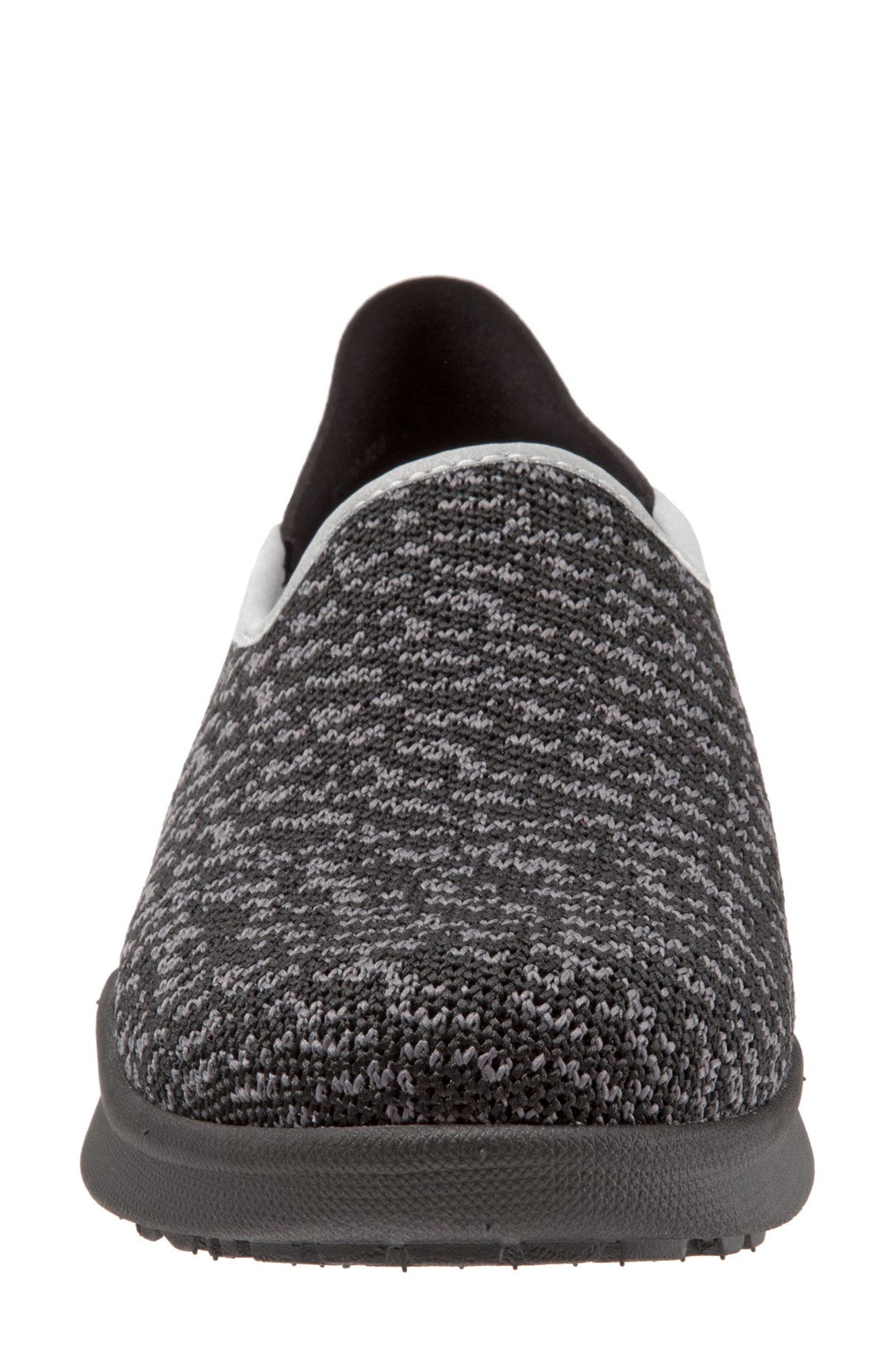 Simba Convertible Slip-On,                             Alternate thumbnail 5, color,                             BLACK FABRIC