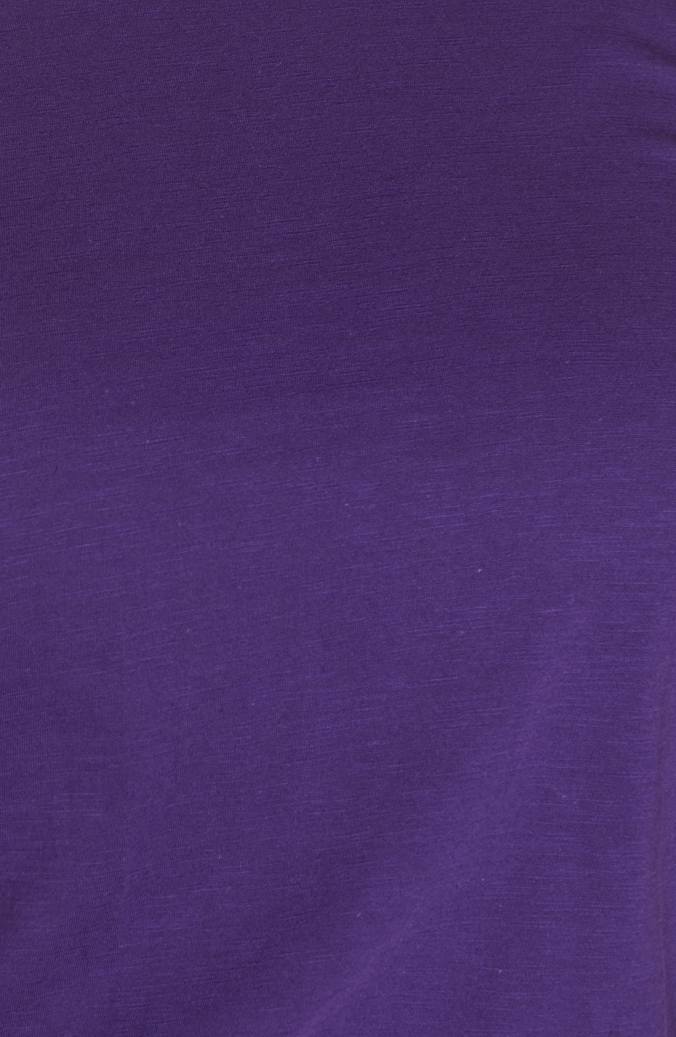 Crewneck Tee,                             Alternate thumbnail 5, color,                             ULTRAVIOLET