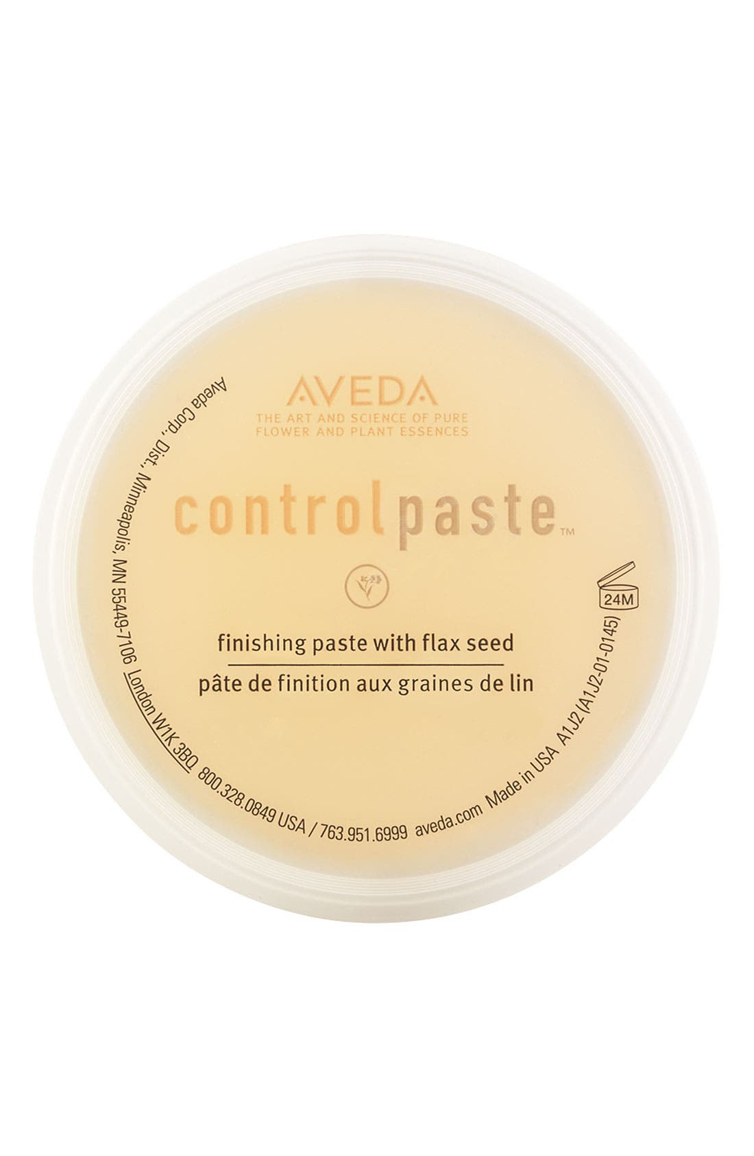 AVEDA,                             'control paste<sup>™</sup>' Finishing Paste,                             Main thumbnail 1, color,                             000