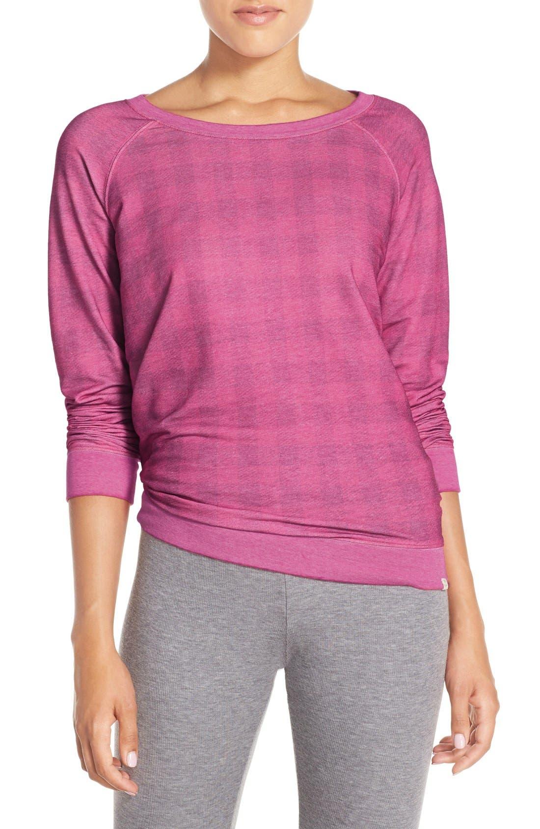 Burnout Lounge Sweatshirt,                             Main thumbnail 64, color,