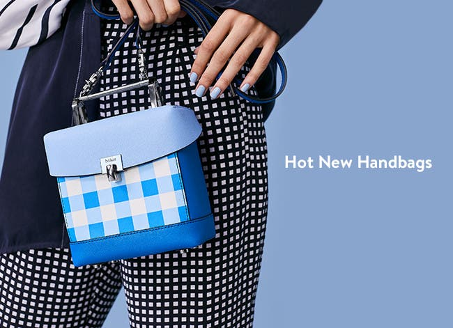 New women's handbags.