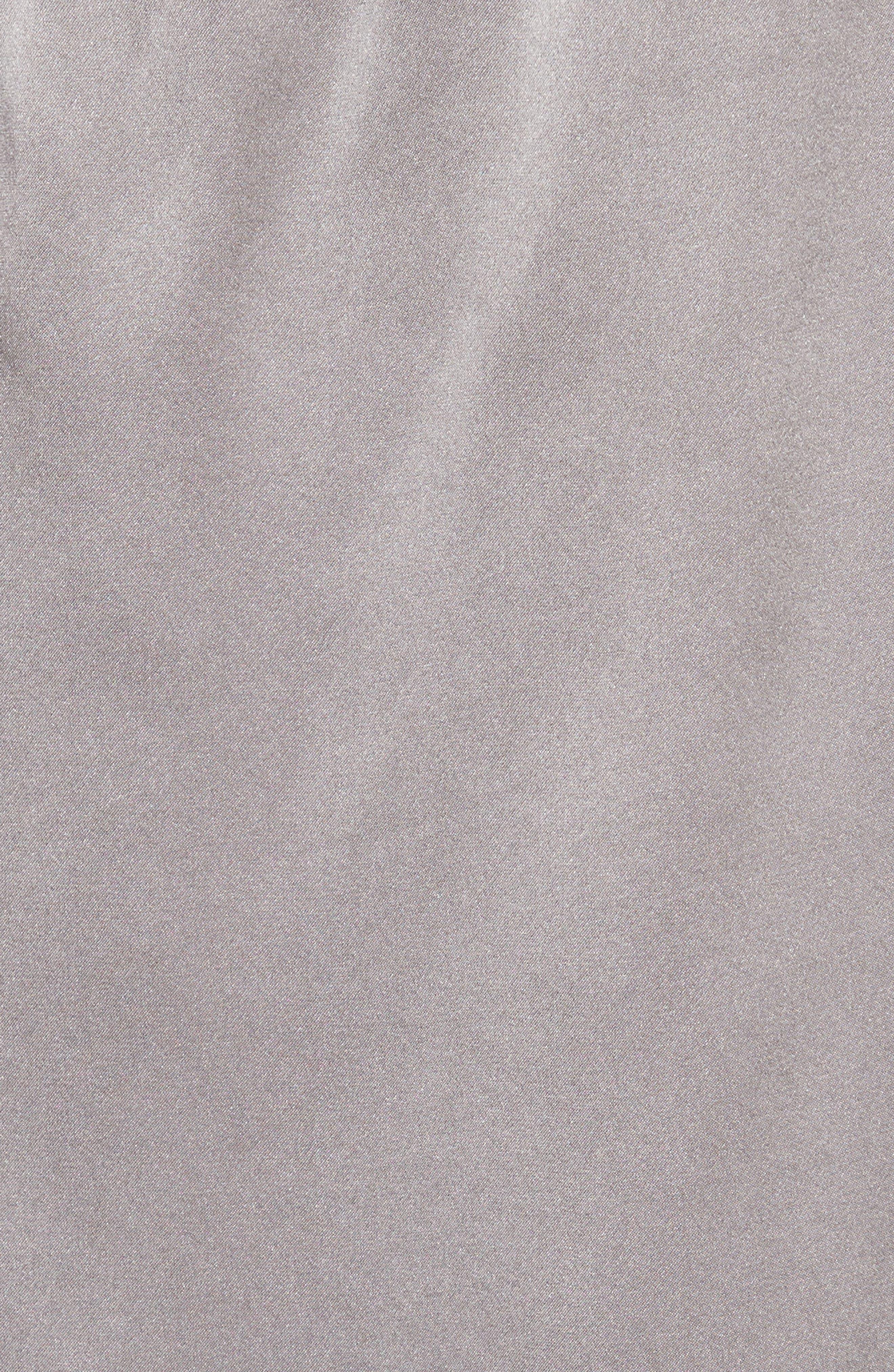 Abatha One-Shoulder Silk Top,                             Alternate thumbnail 5, color,