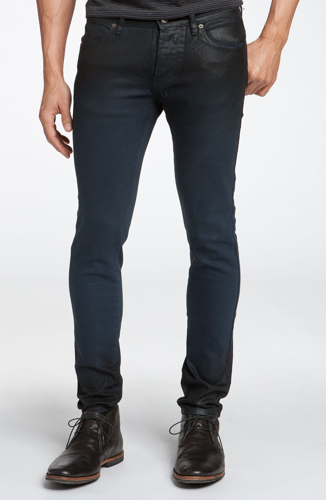 'Van Winkle' Skinny Jeans,                             Alternate thumbnail 2, color,                             001