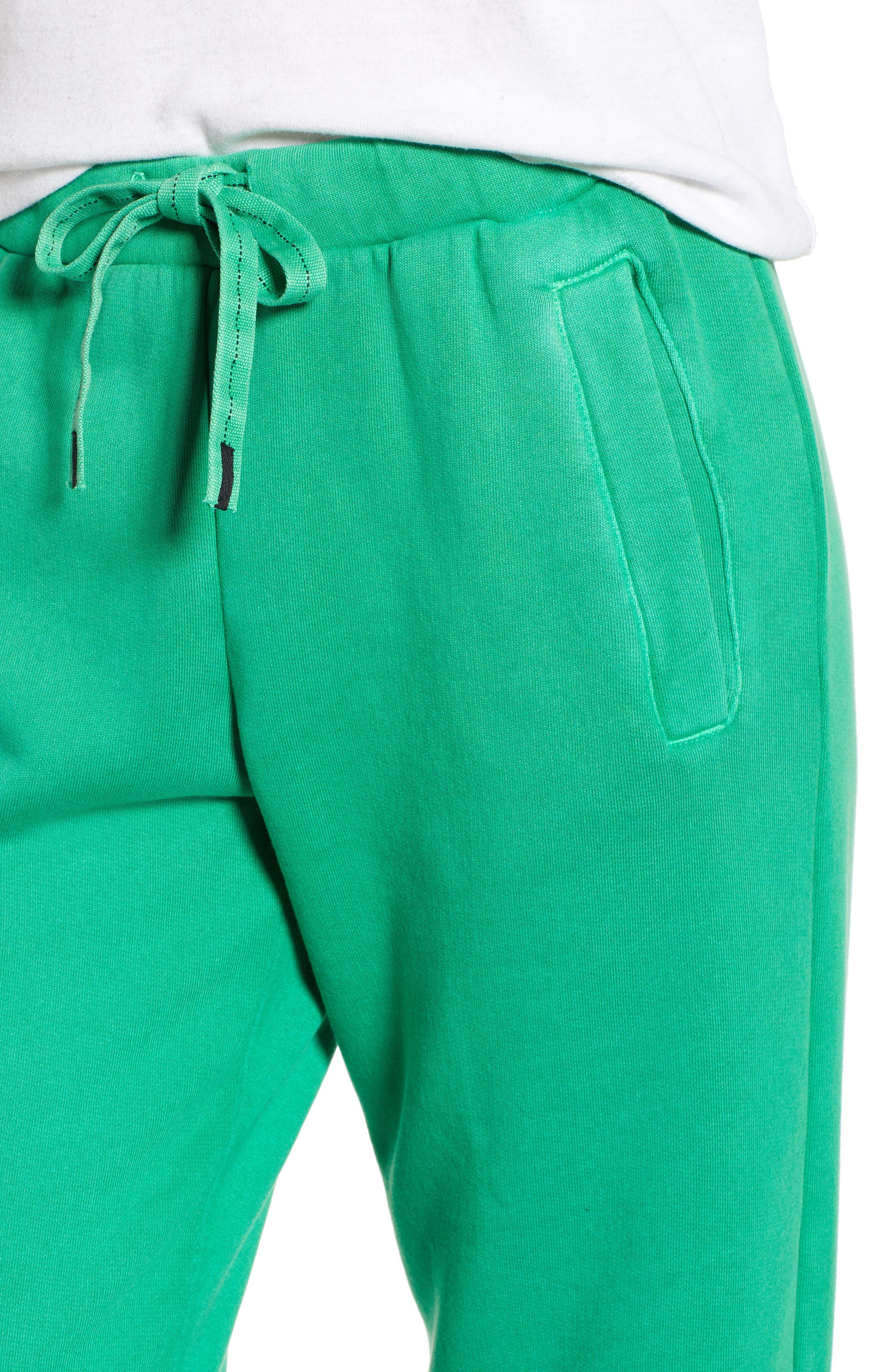 Neon Sweatpants,                             Alternate thumbnail 4, color,                             GREEN