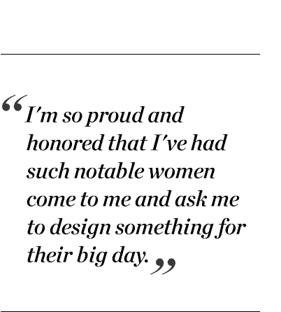 """""""I'm so proud and honored that I've had such notable women come to me and ask me to design something for their big day."""" - Stella McCartney"""