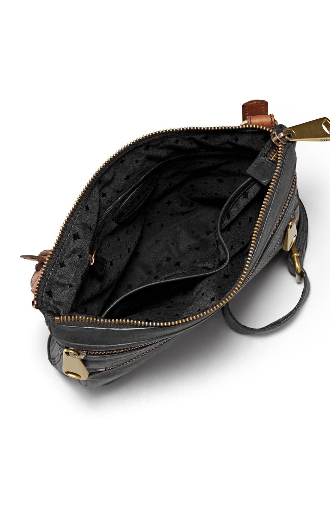 'Explorer' Crossbody Bag,                             Alternate thumbnail 2, color,                             001