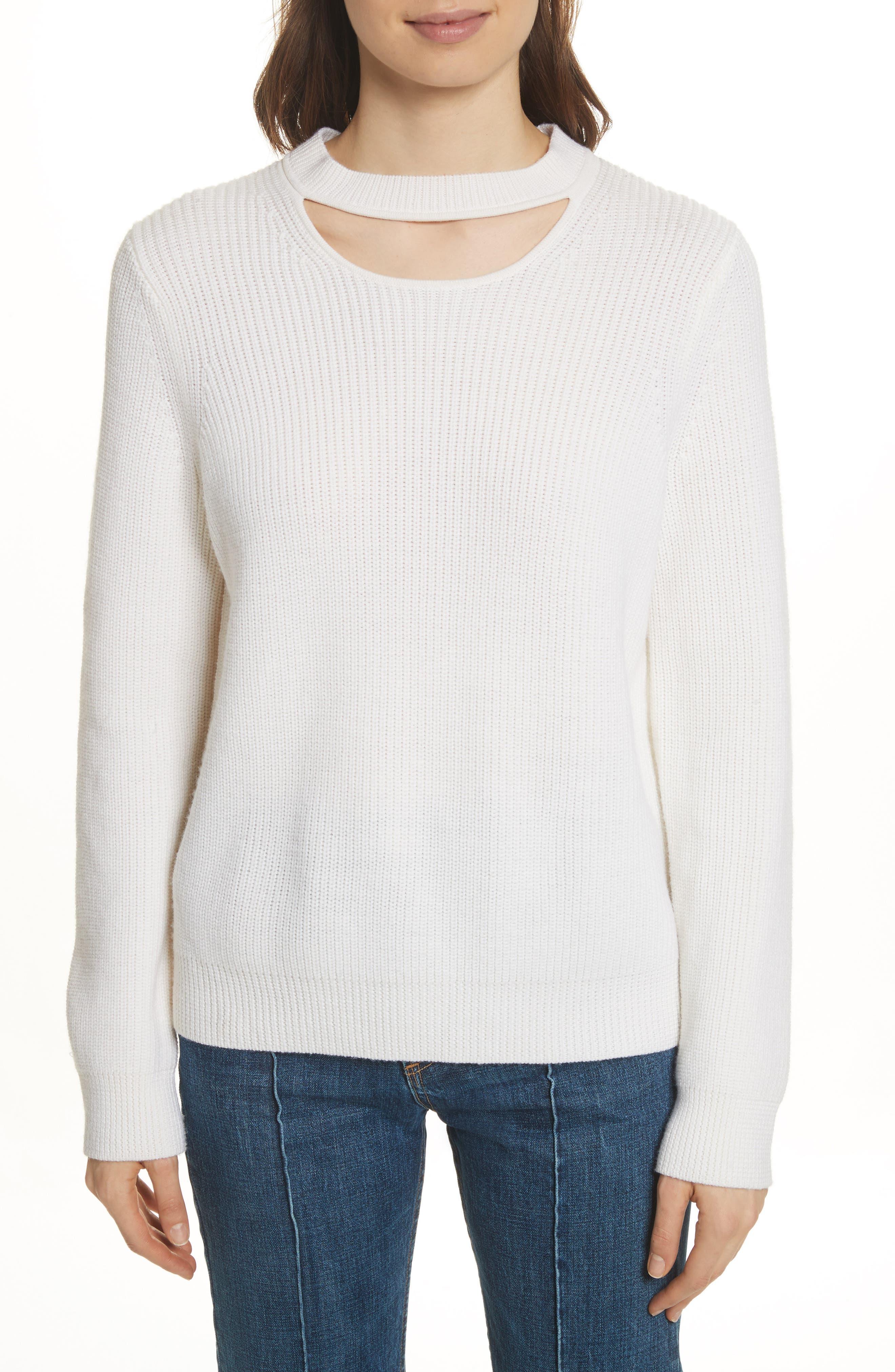 Tori Cutout Sweatshirt,                             Main thumbnail 2, color,