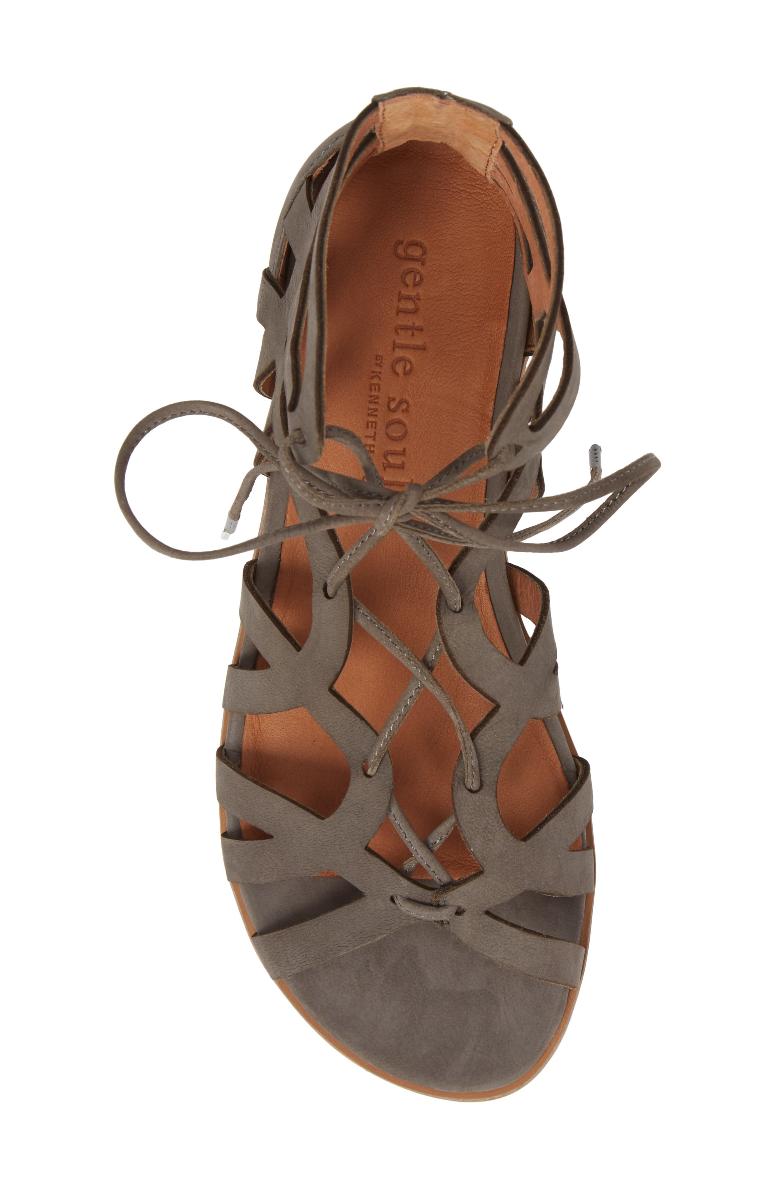 by Kenneth Cole Larina Lace-Up Sandal,                             Alternate thumbnail 14, color,