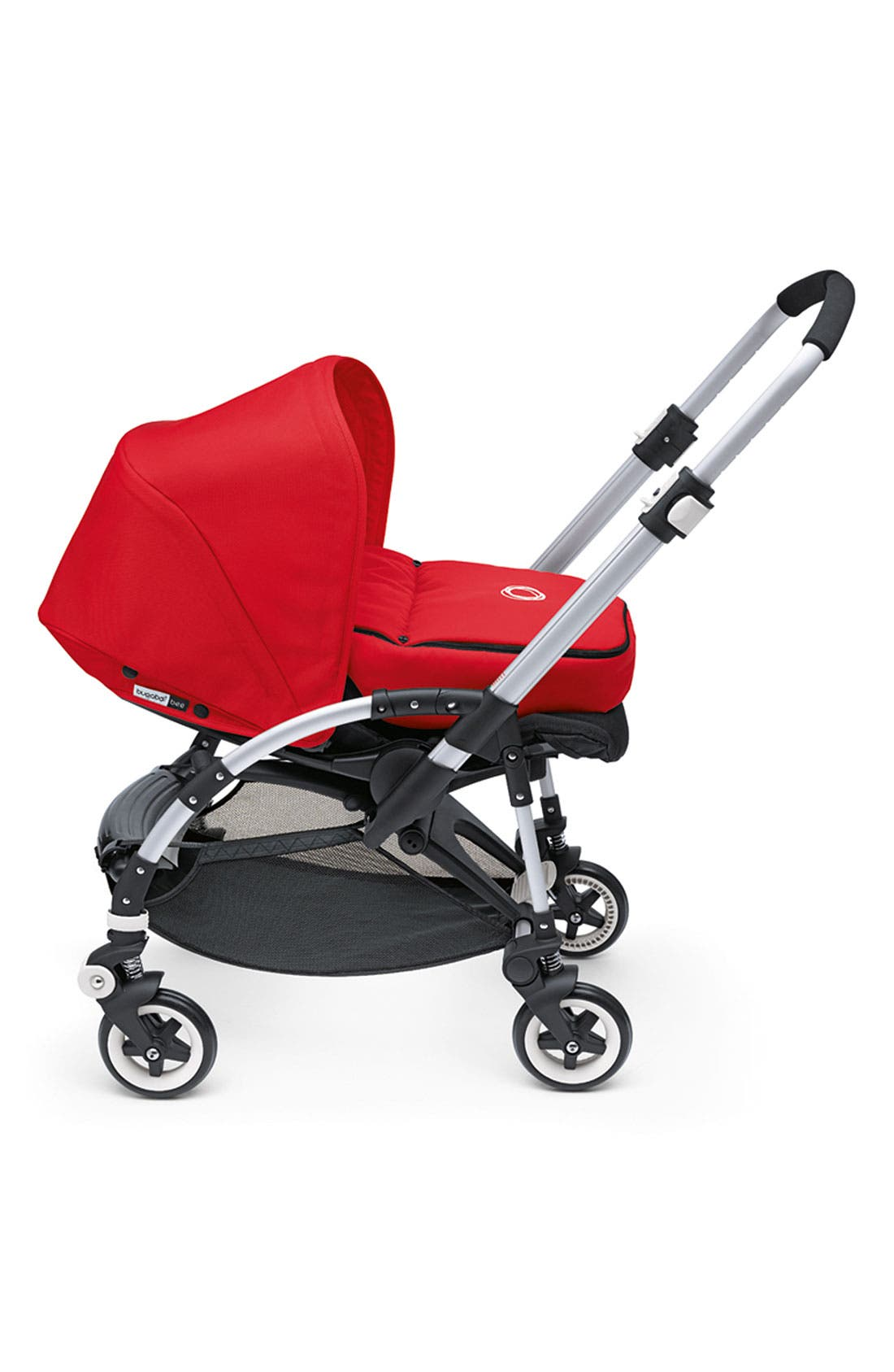 'Bee' Stroller Lining,                             Alternate thumbnail 3, color,                             RED