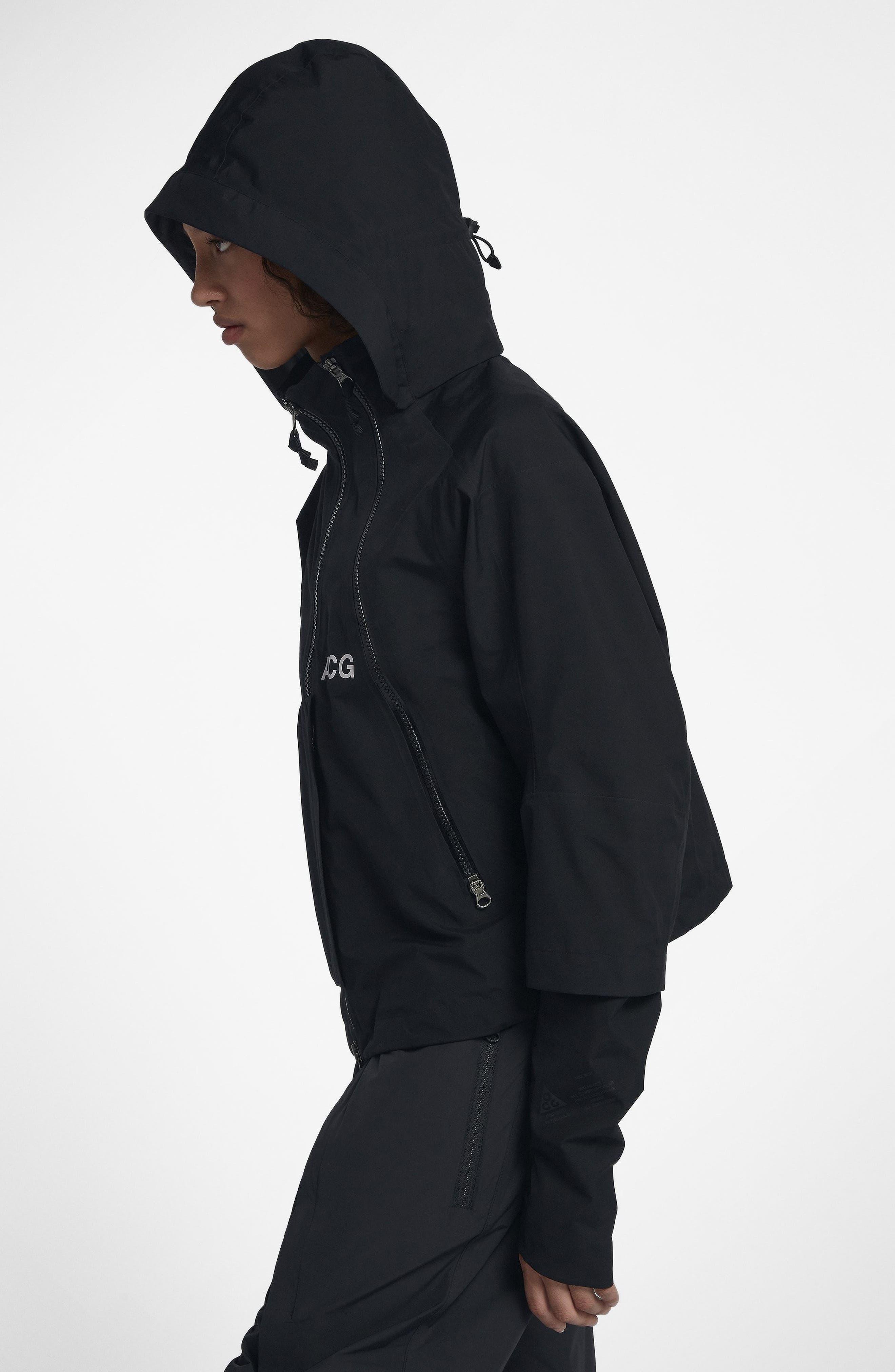 NikeLab ACG Gore-Tex<sup>®</sup> Women's Jacket,                             Alternate thumbnail 8, color,                             010