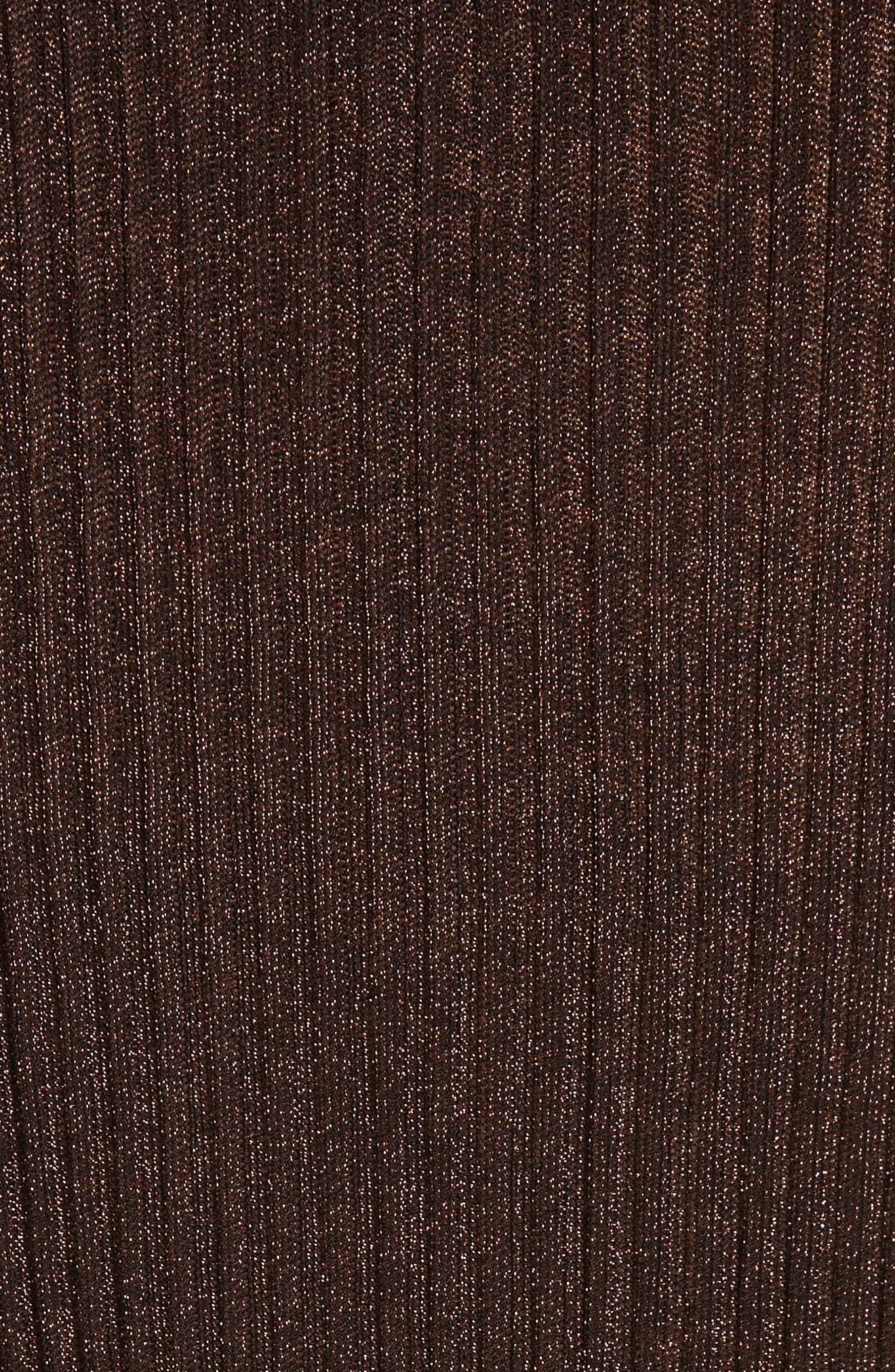 Halsey Metallic Sweater Tank,                             Alternate thumbnail 5, color,                             220