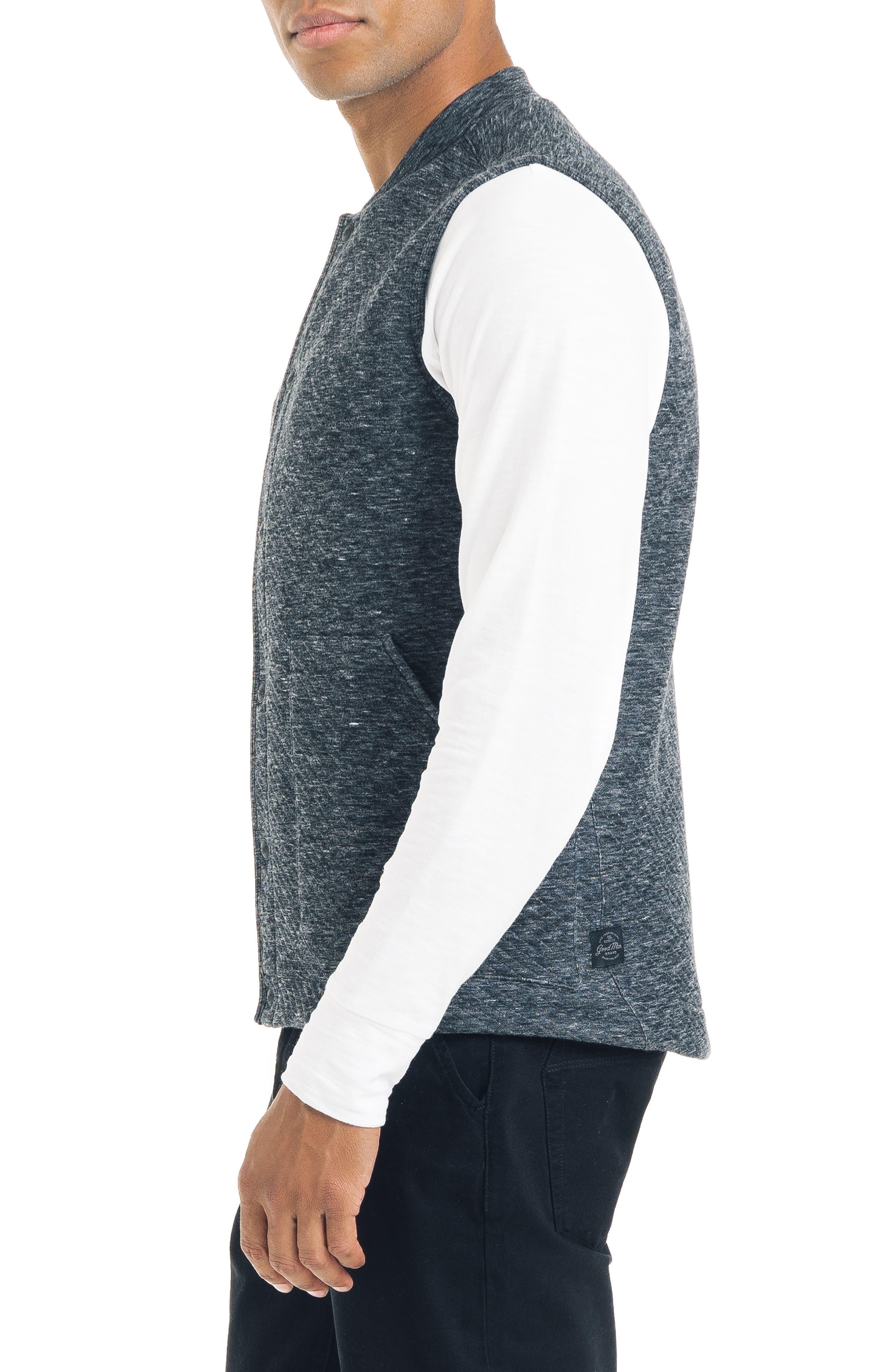Slim Fit Vest,                             Alternate thumbnail 3, color,                             032