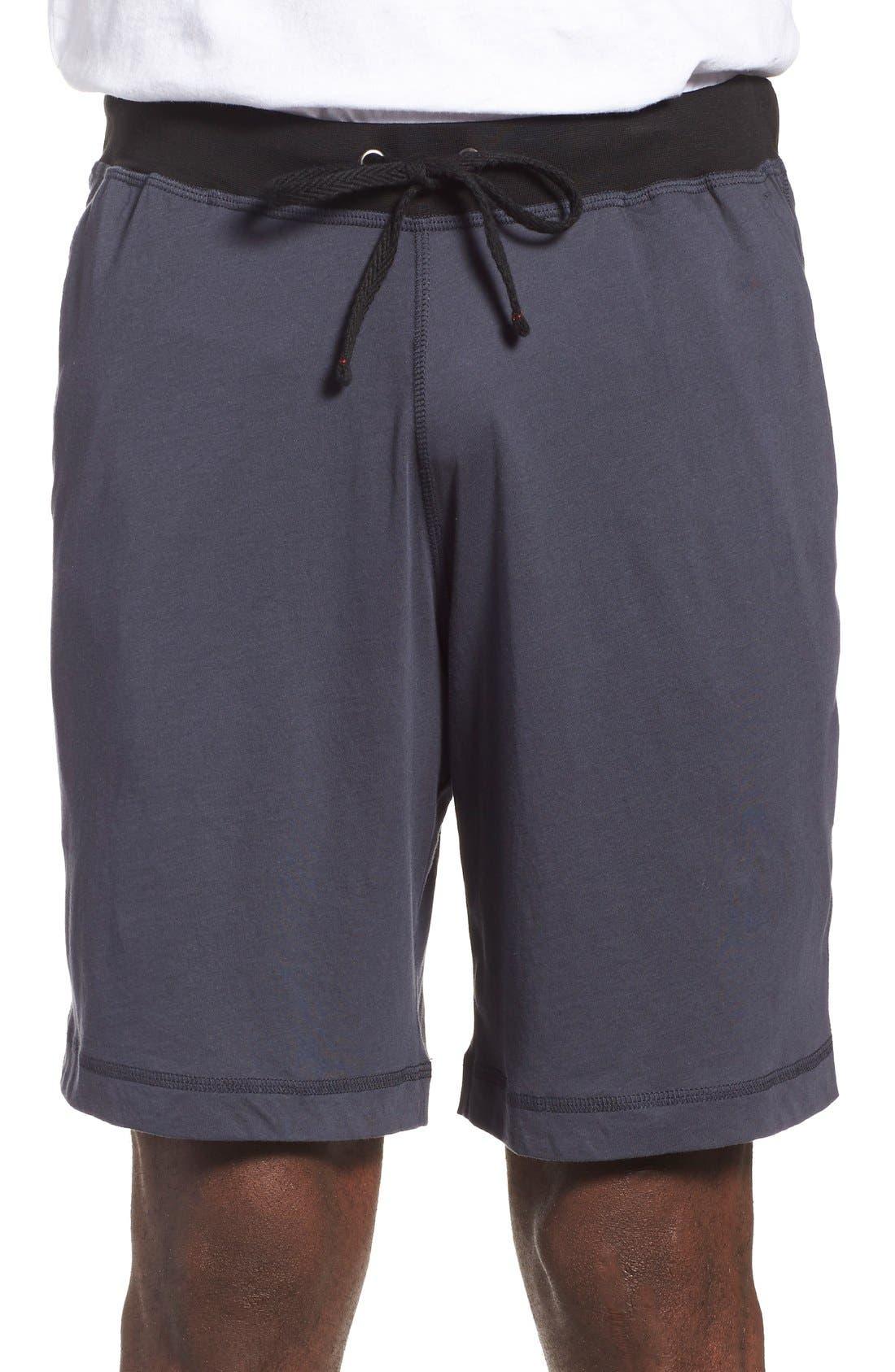 Peruvian Pima Cotton Lounge Shorts,                             Main thumbnail 2, color,