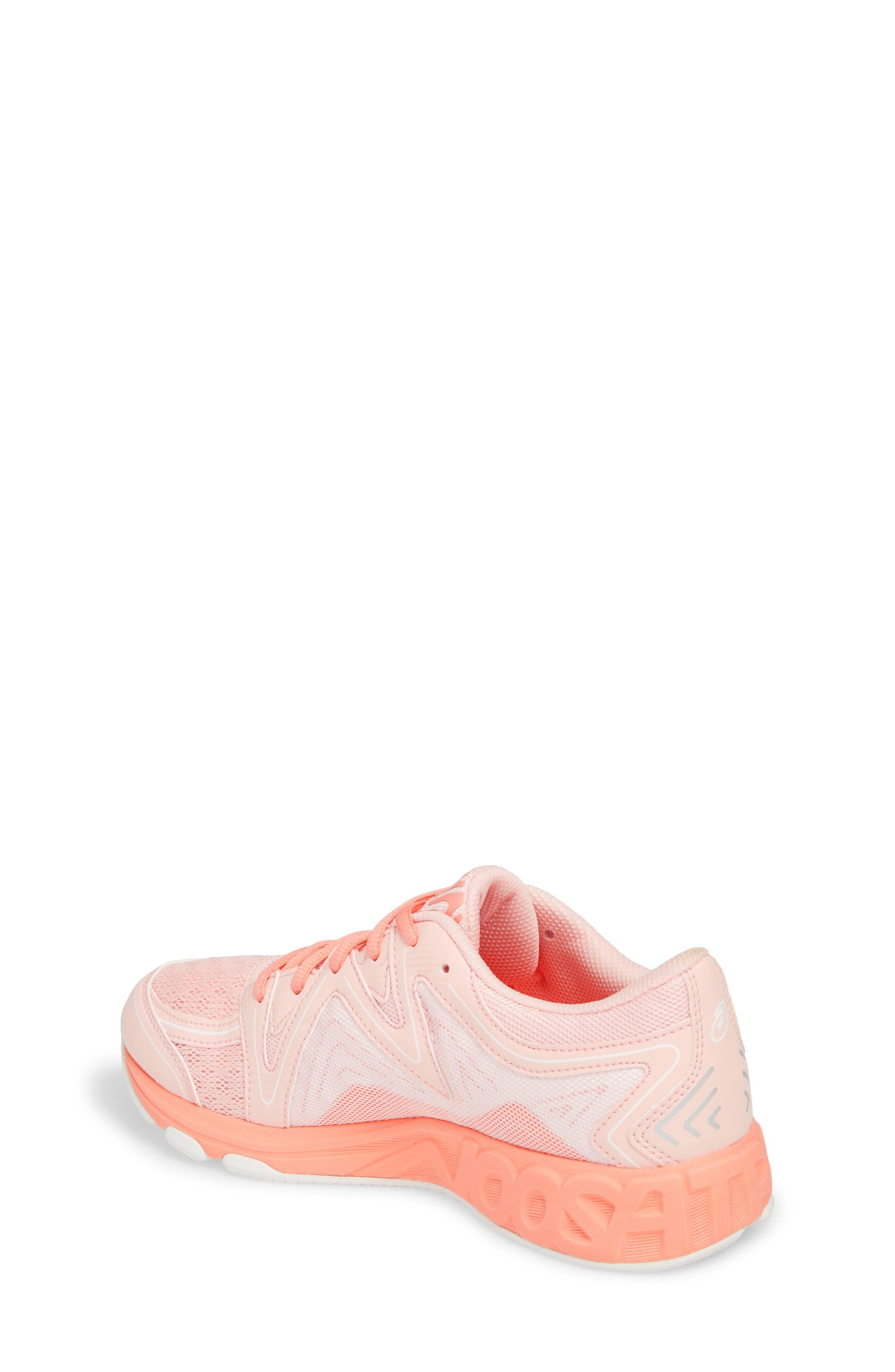 Noosa GS Sneaker,                             Alternate thumbnail 2, color,                             SEASHELL PINK/ BEGONIA/ WHITE