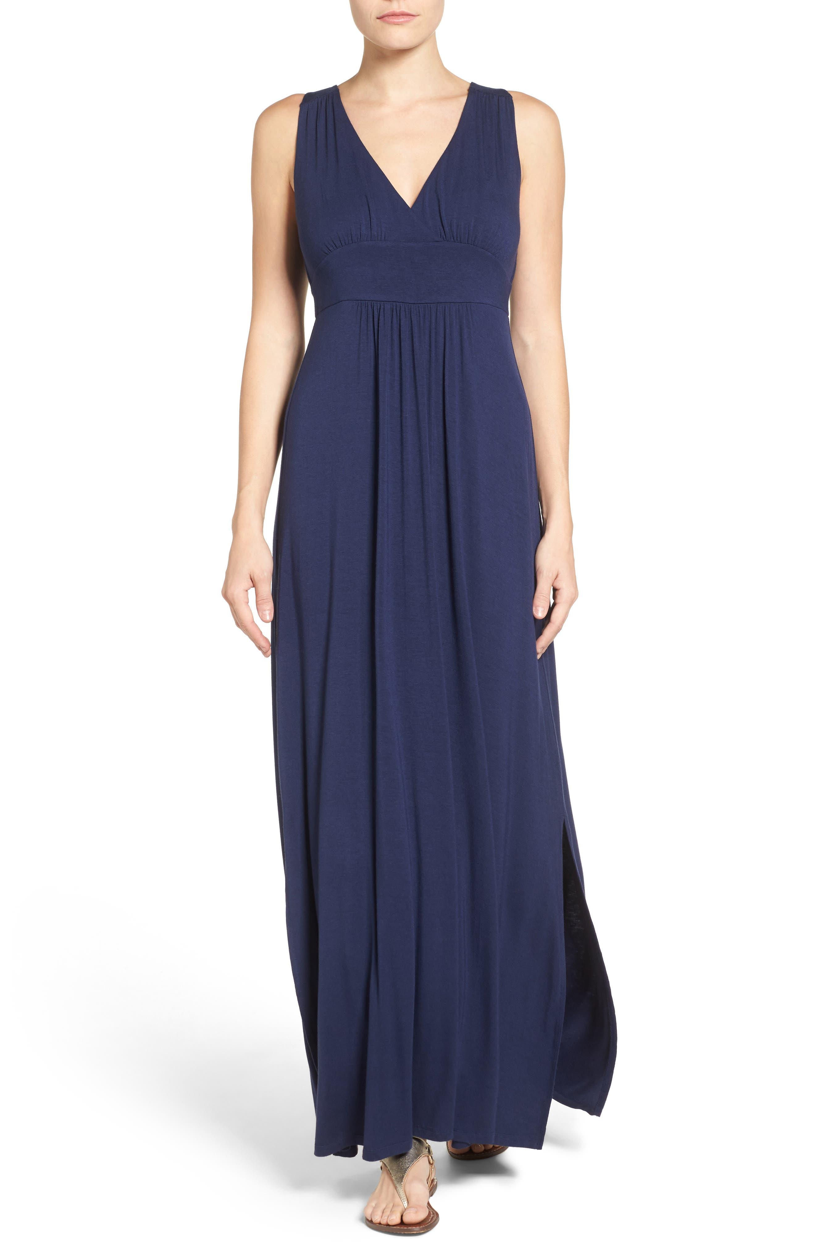Knit Maxi Dress,                             Alternate thumbnail 10, color,