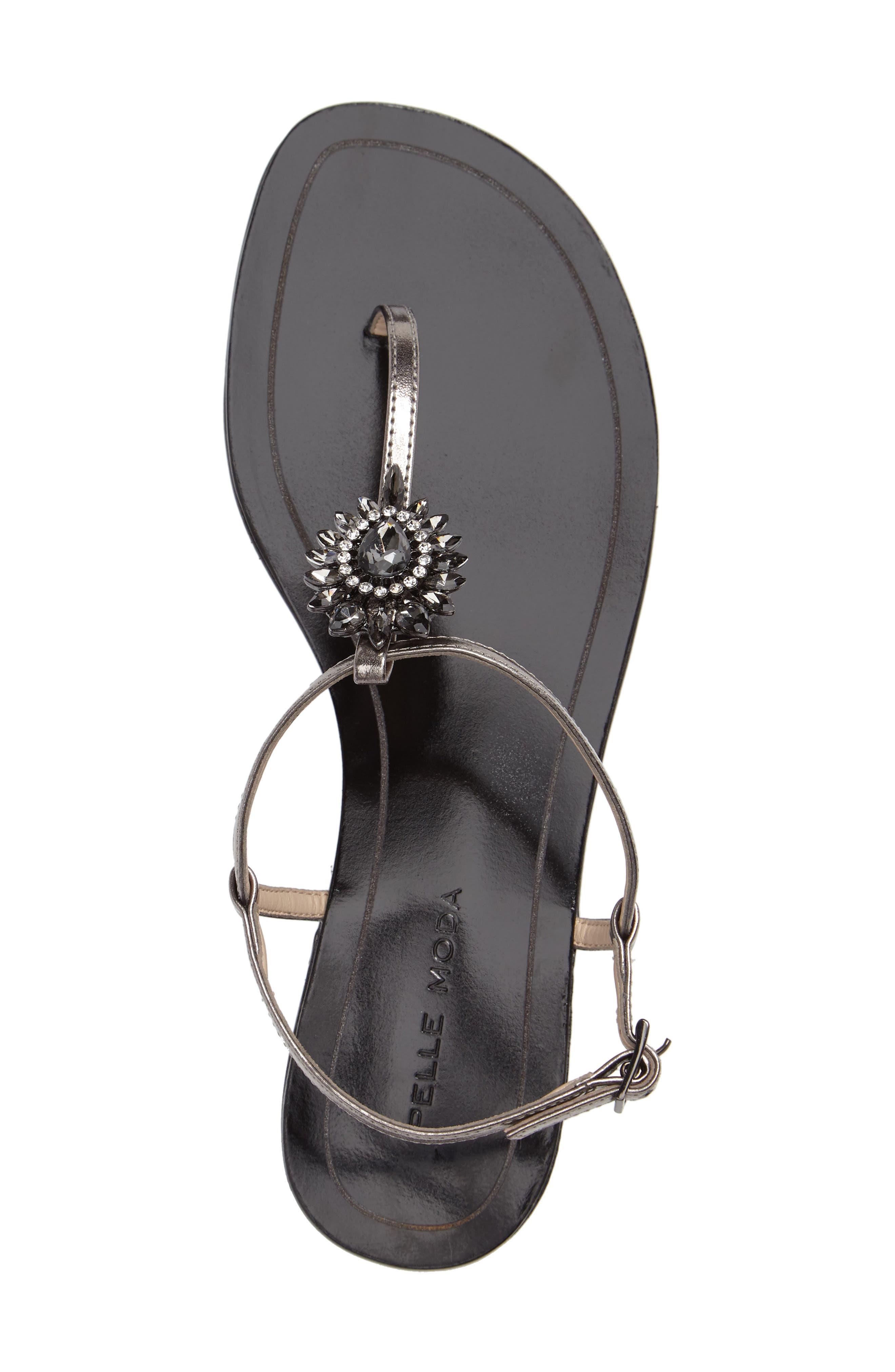 Baxley 3 Crystal Embellished Sandal,                             Alternate thumbnail 3, color,                             022