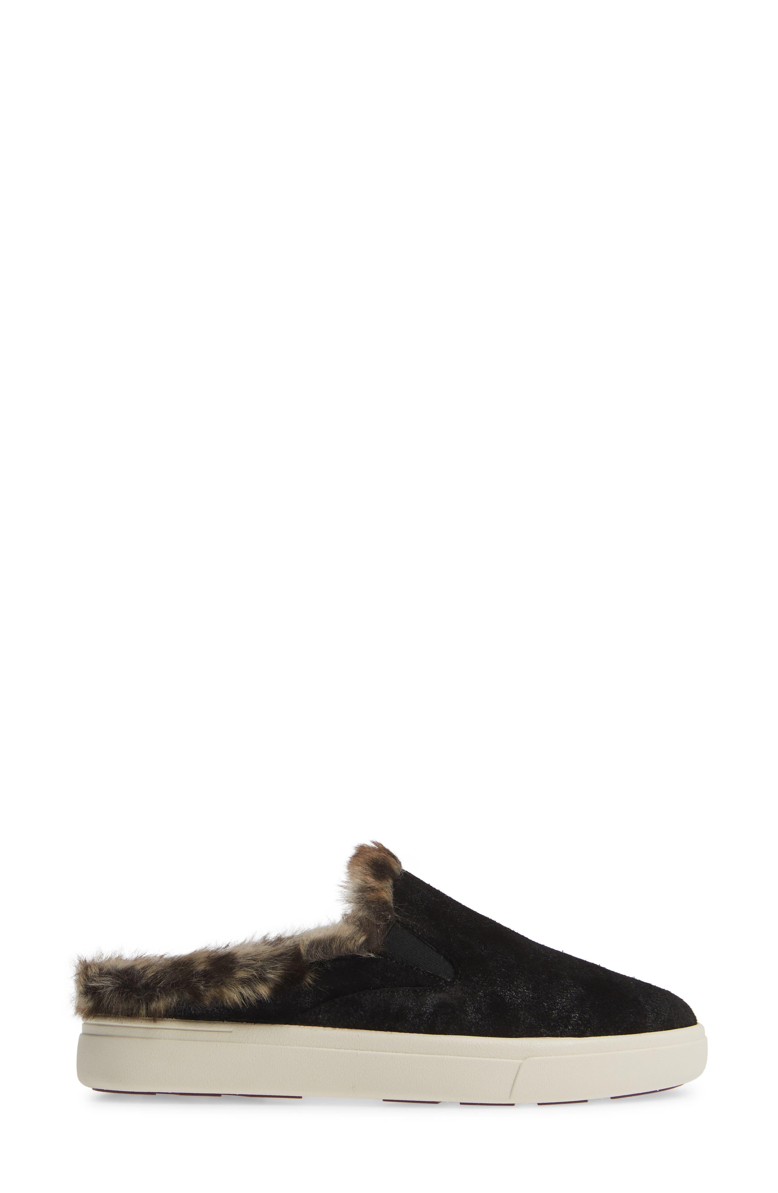 VANELI,                             Yasir Slip-On Sneaker,                             Alternate thumbnail 3, color,                             BLACK SUEDE