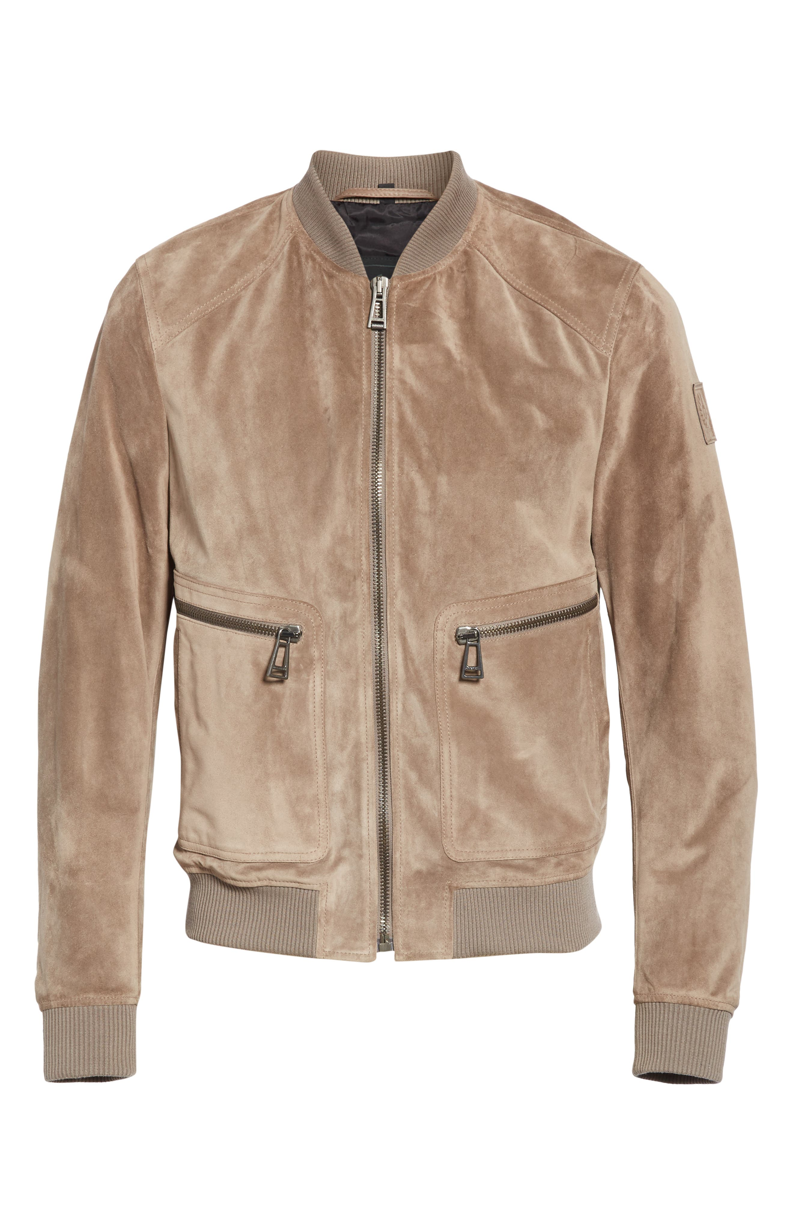 Winswell Suede Jacket,                             Alternate thumbnail 5, color,                             DRIFTWOOD