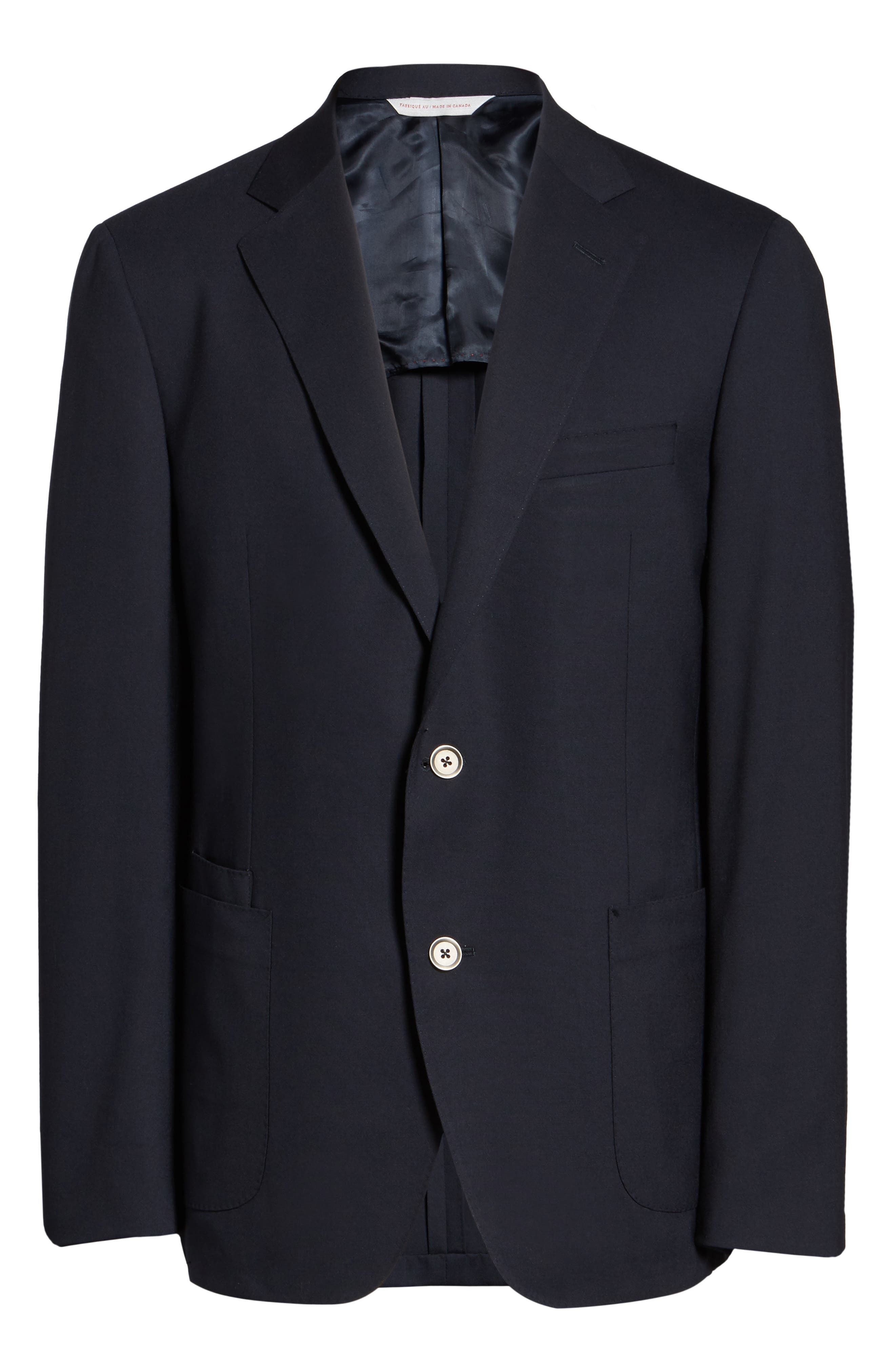 Classic Fit Stretch Wool Travel Blazer,                             Alternate thumbnail 5, color,                             410