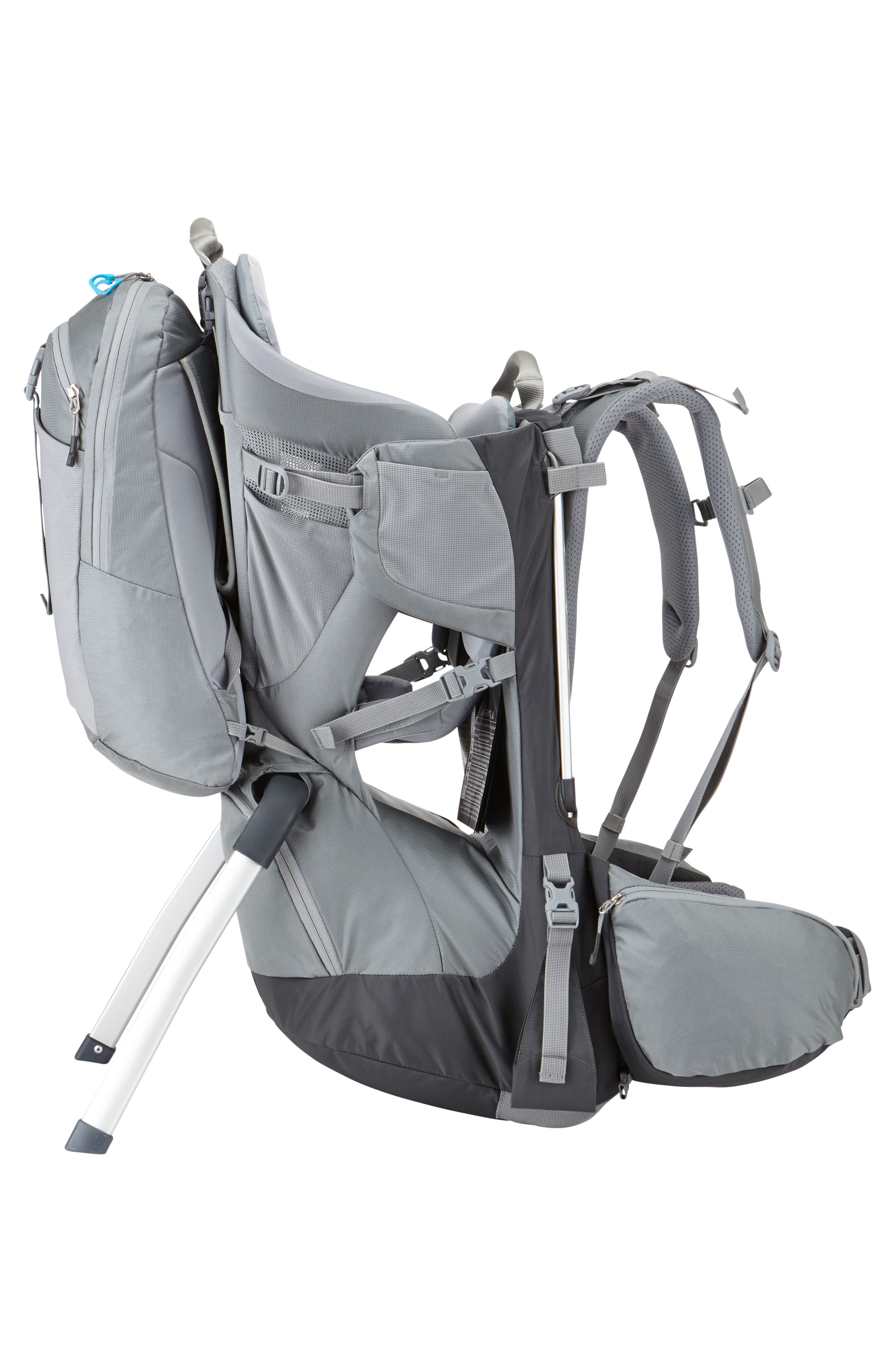Sapling Elite Child Carrier,                             Alternate thumbnail 4, color,                             DARK SHADOW/ SLATE