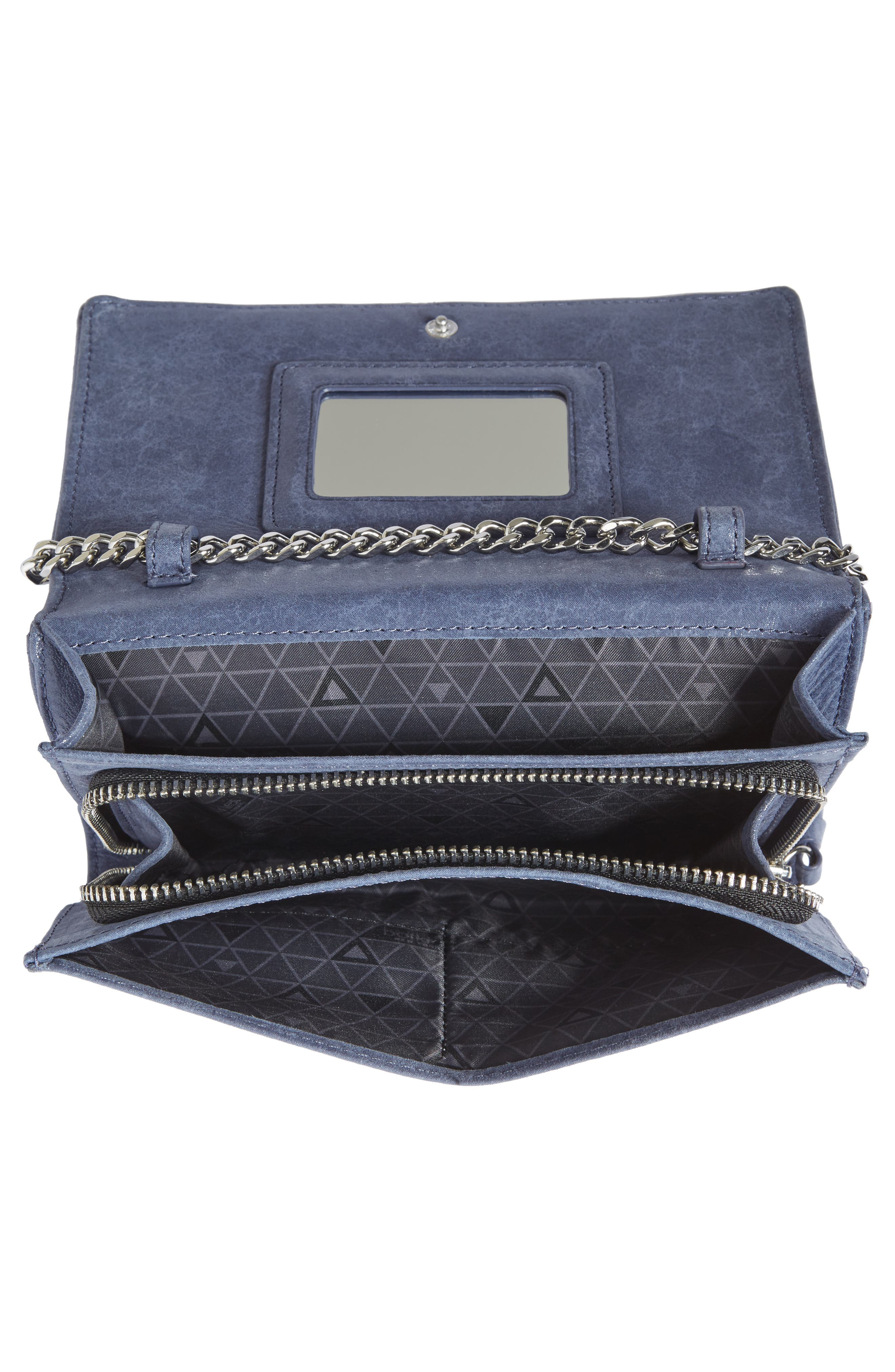 Logan Leather Crossbody Wallet,                             Alternate thumbnail 15, color,