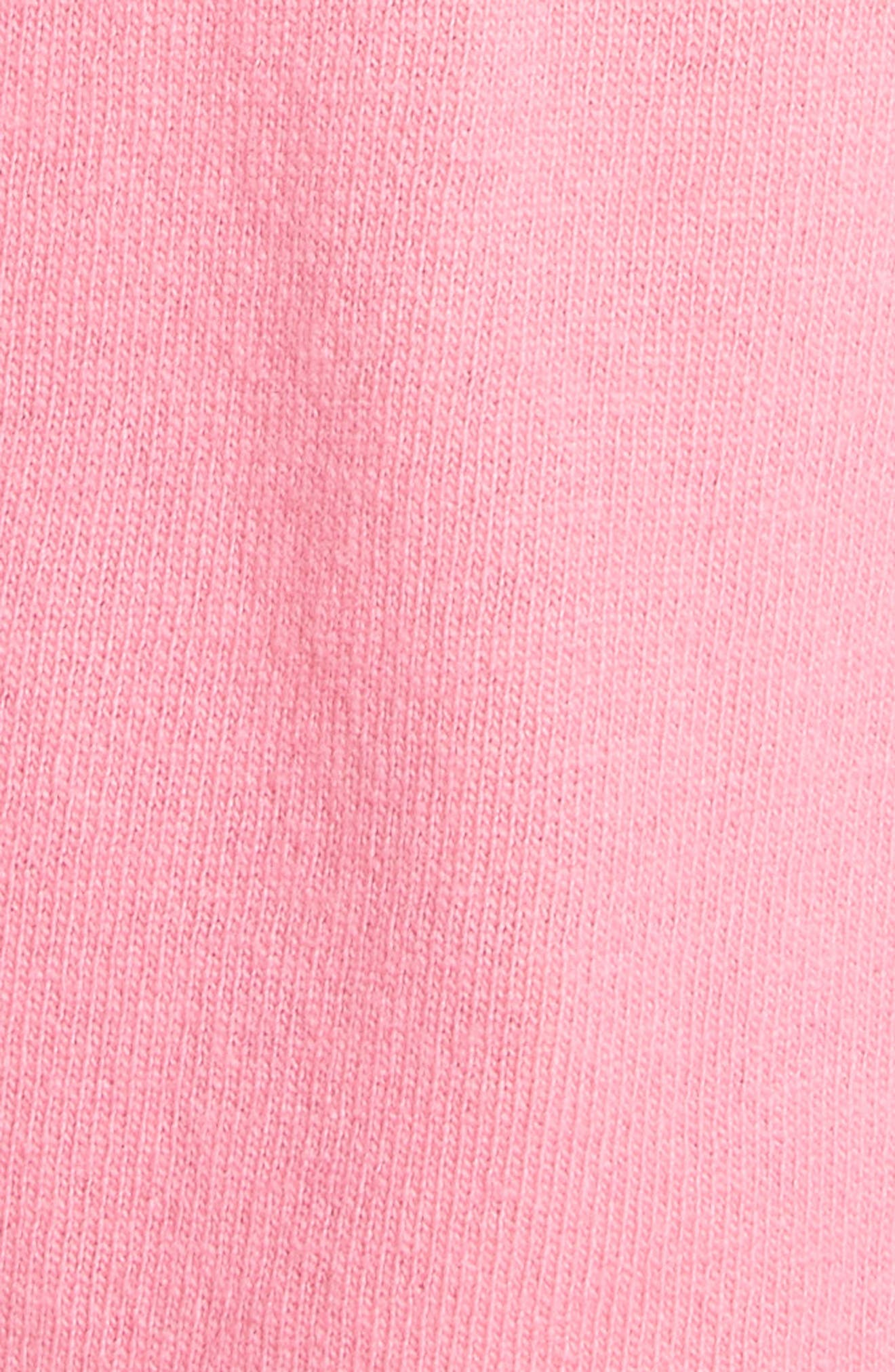 Pink Is Punk Wool & Cashmere Sweater,                             Alternate thumbnail 5, color,                             664