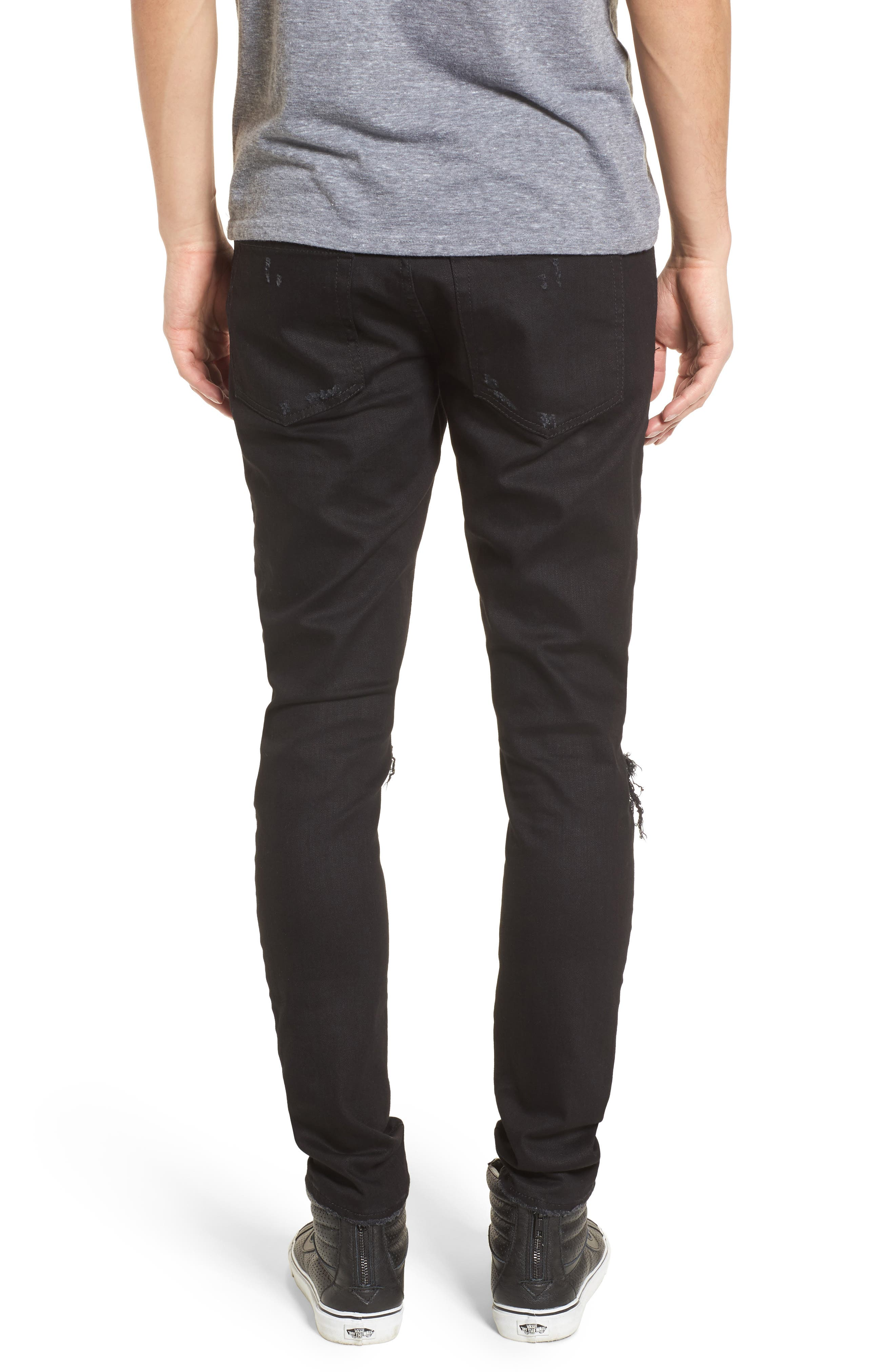 Destroyer Slim Fit Jeans,                             Alternate thumbnail 2, color,                             001