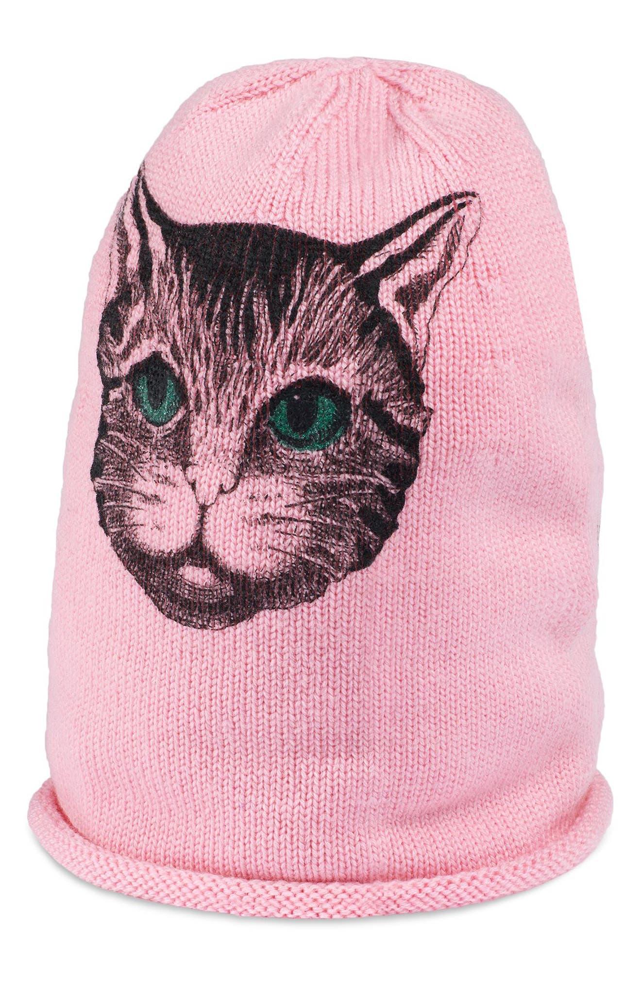Catty Beanie,                             Main thumbnail 2, color,