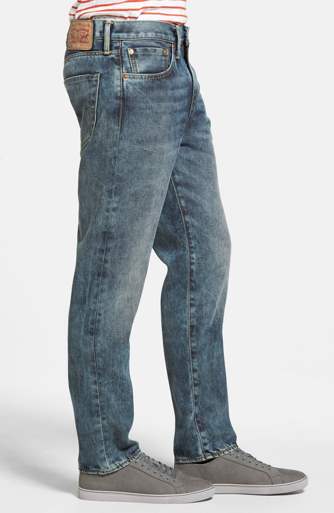 LEVI'S<SUP>®</SUP>,                             '522<sup>™</sup>' Slim Tapered Fit Jeans,                             Alternate thumbnail 4, color,                             423