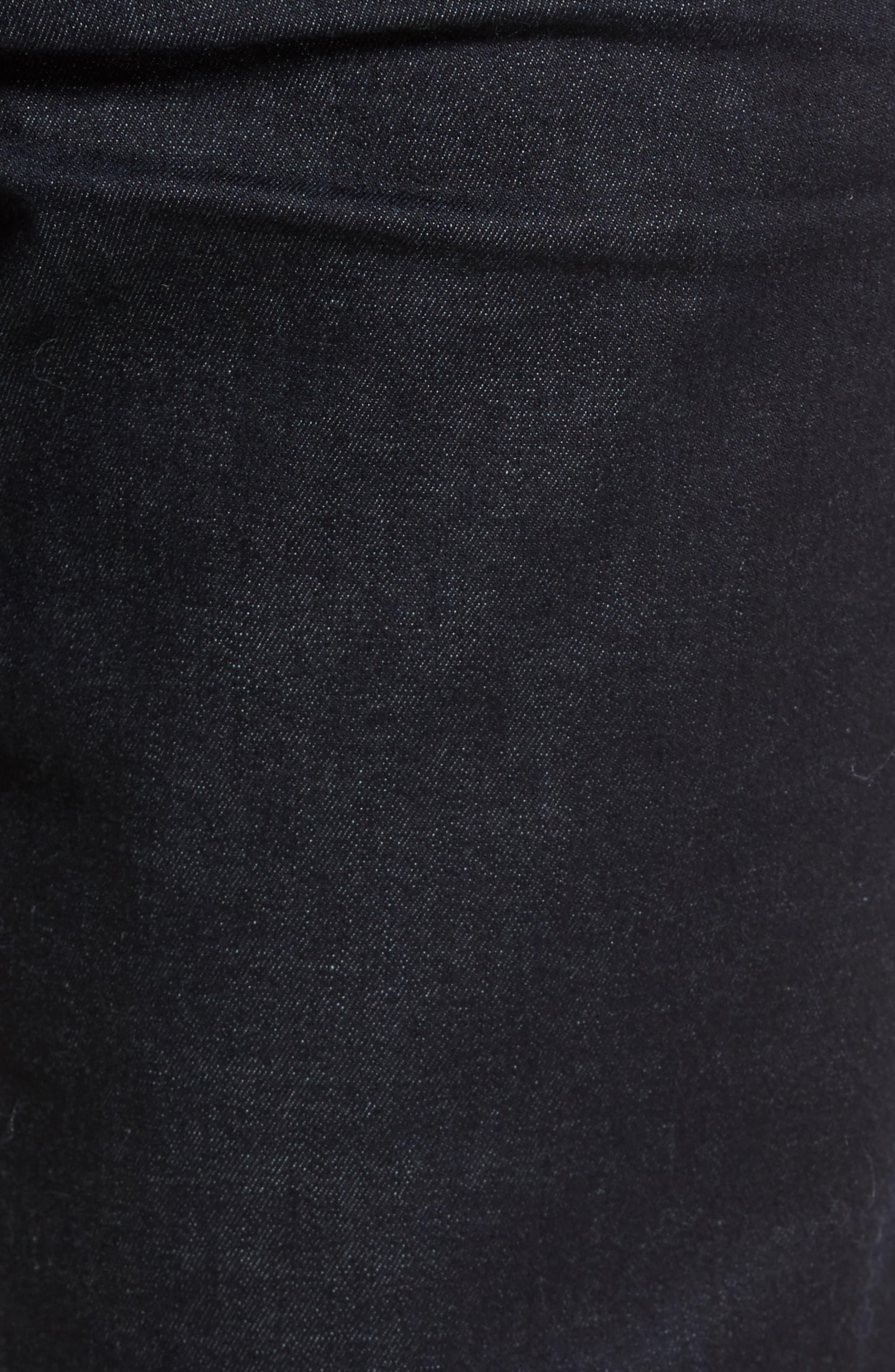 Classic Straight Leg Jeans,                             Alternate thumbnail 5, color,                             400