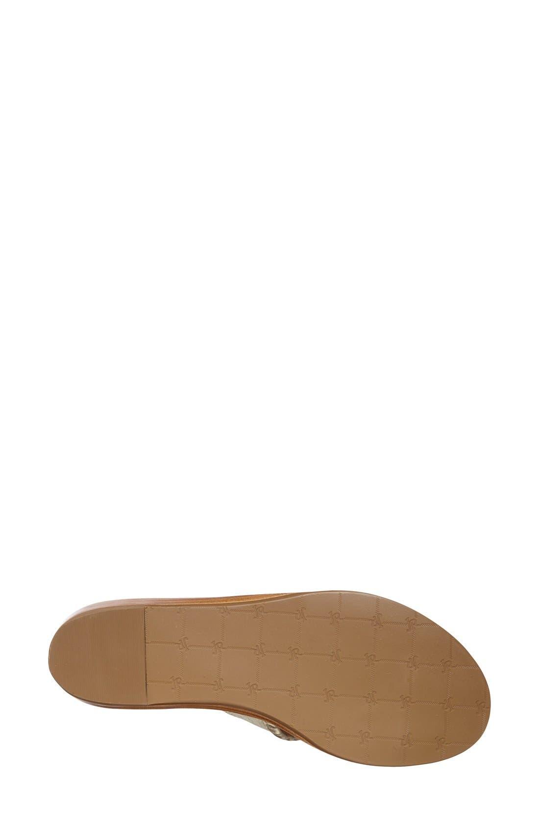 'Capri' Etched Sandal,                             Alternate thumbnail 2, color,                             042