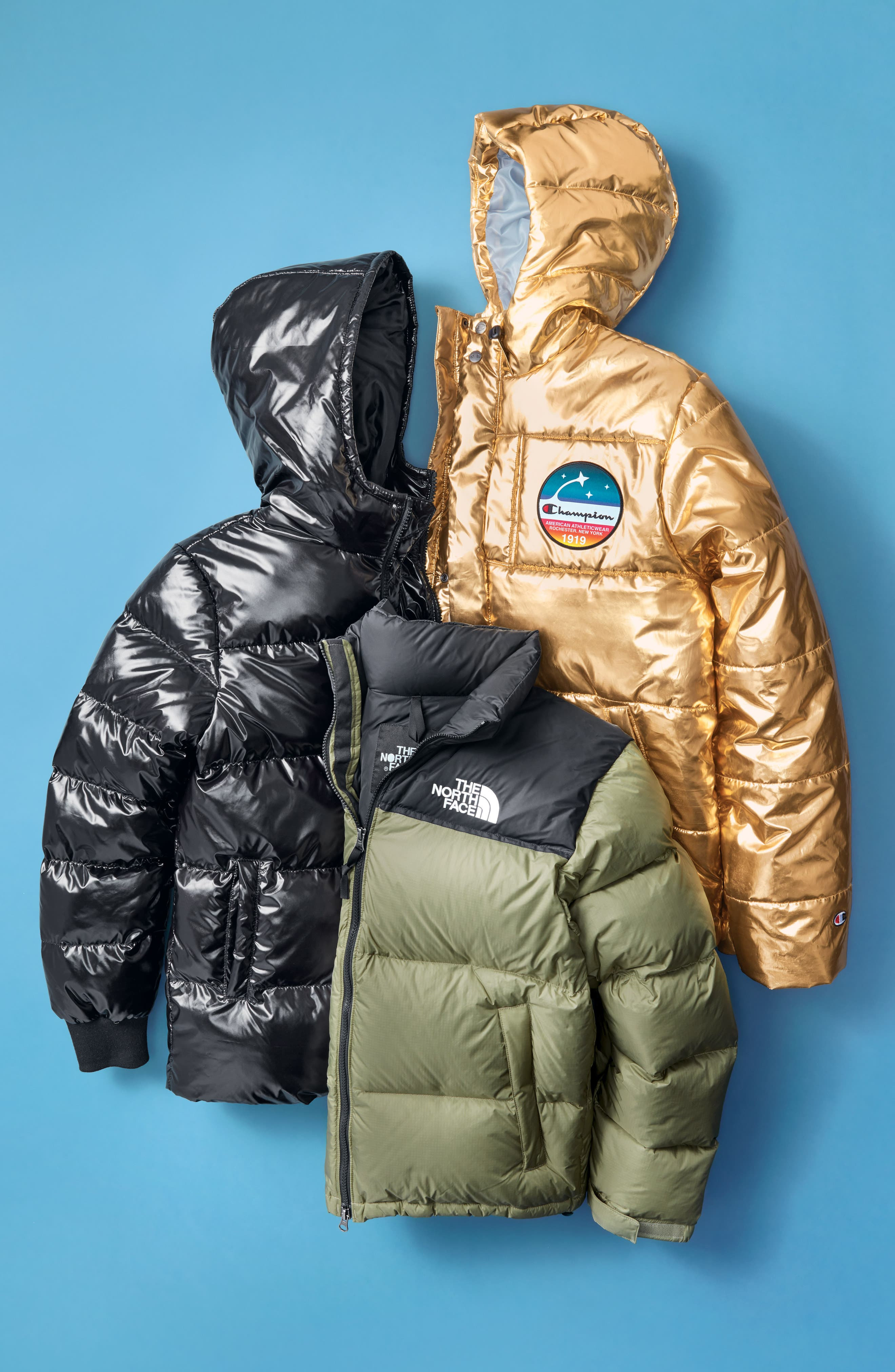 Nuptse 1996 Packable Quilted Down Jacket,                             Alternate thumbnail 9, color,                             TUMBLEWEED GREEN