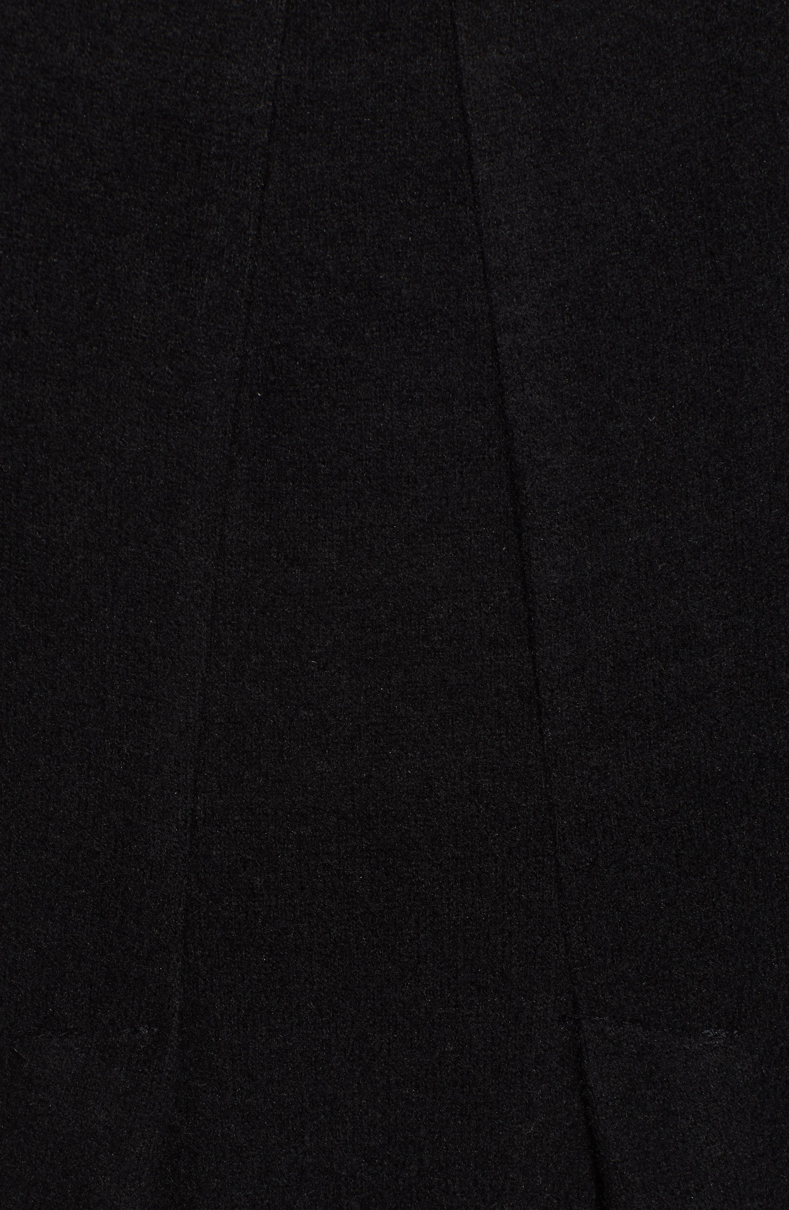 BOBEAU,                             Pleat Back Pullover,                             Alternate thumbnail 5, color,                             001