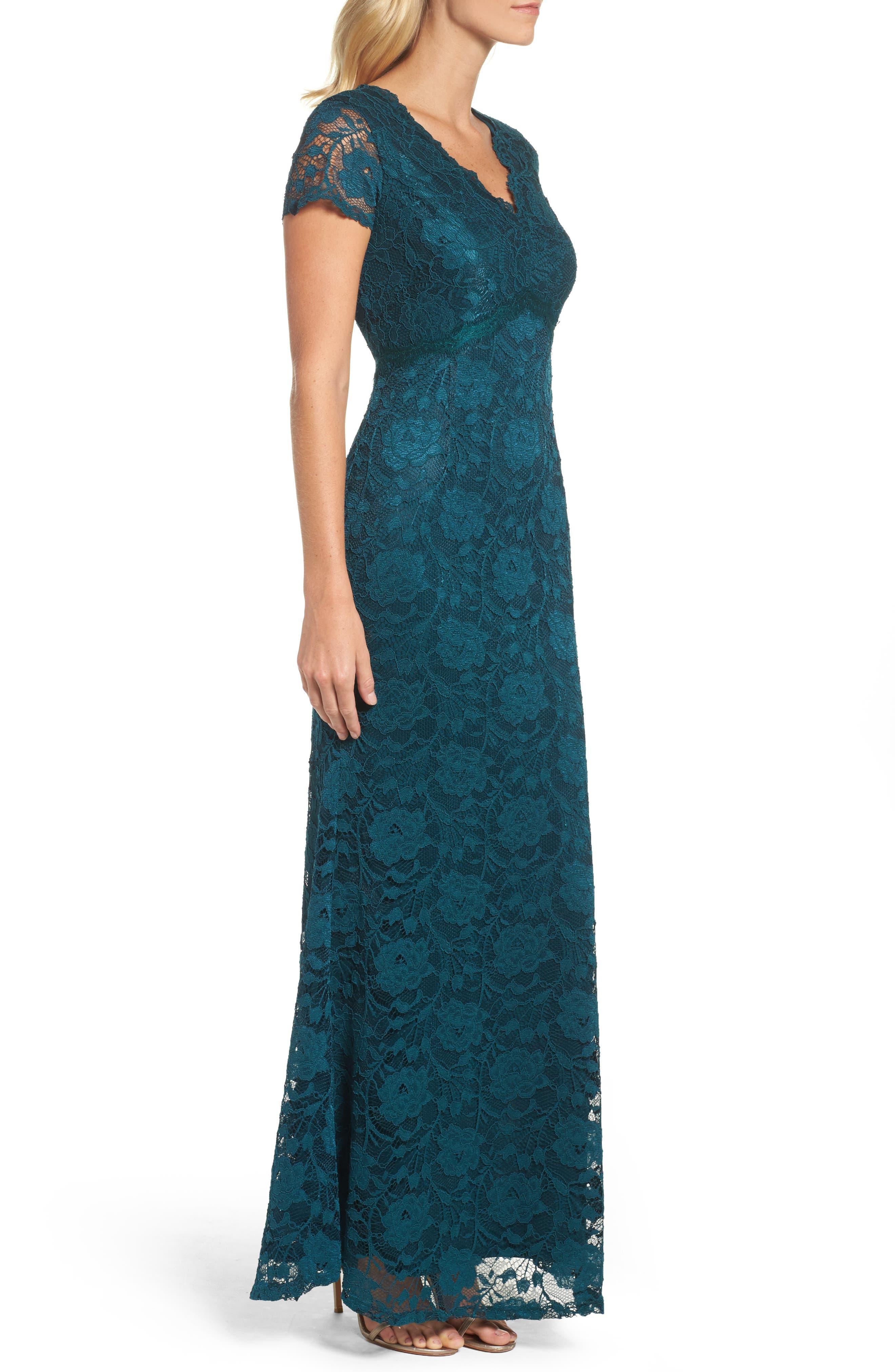 Lace Gown,                             Alternate thumbnail 3, color,                             300