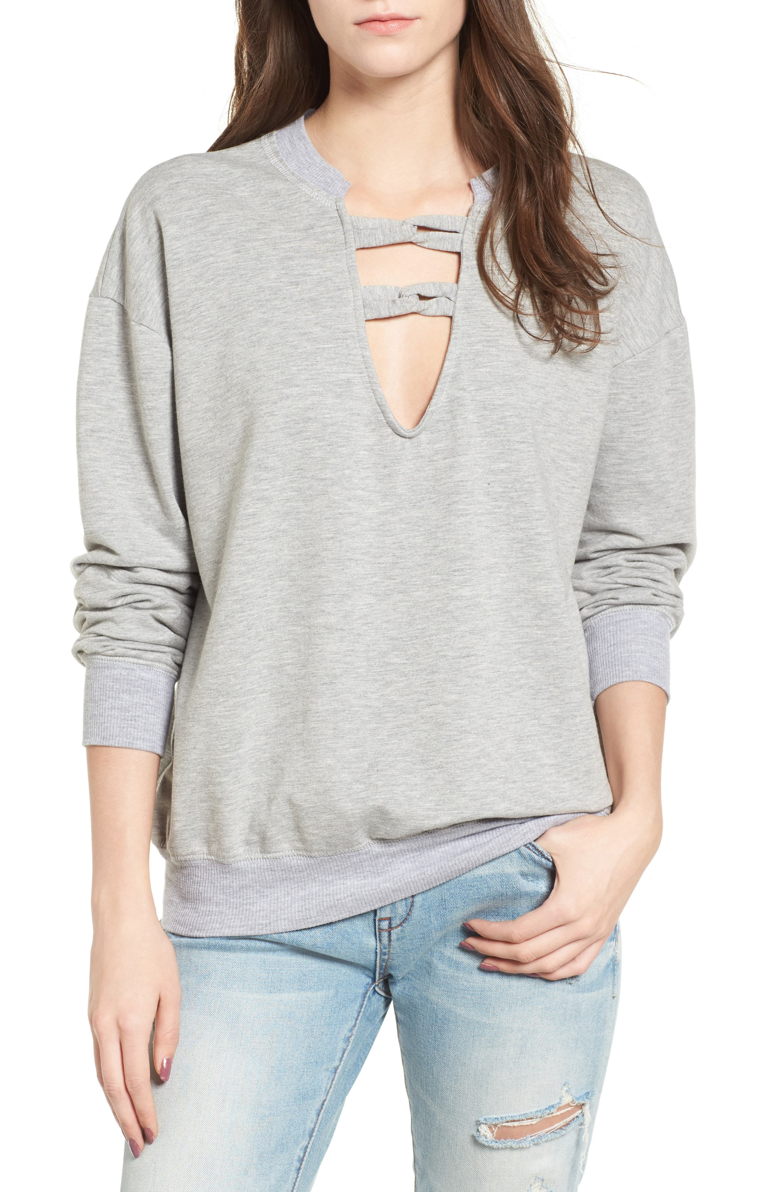 Infinity Knot Sweatshirt,                         Main,                         color, 052