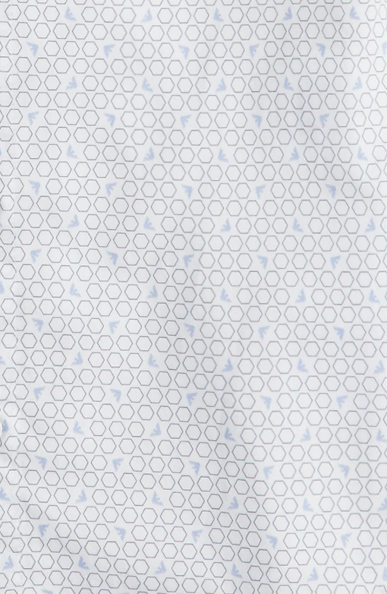 Geo Print Dress Shirt,                             Alternate thumbnail 2, color,                             484