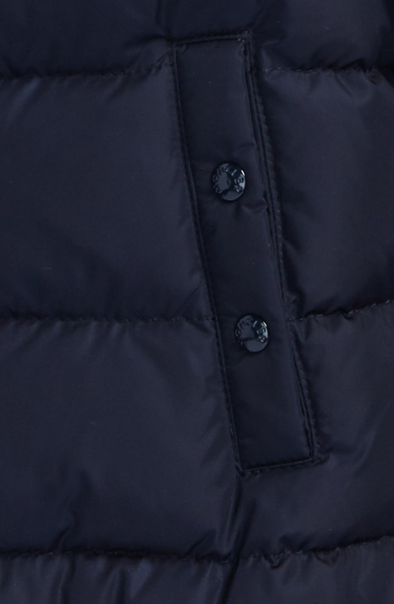 Azinza Hooded Down Jacket,                             Alternate thumbnail 2, color,                             NAVY