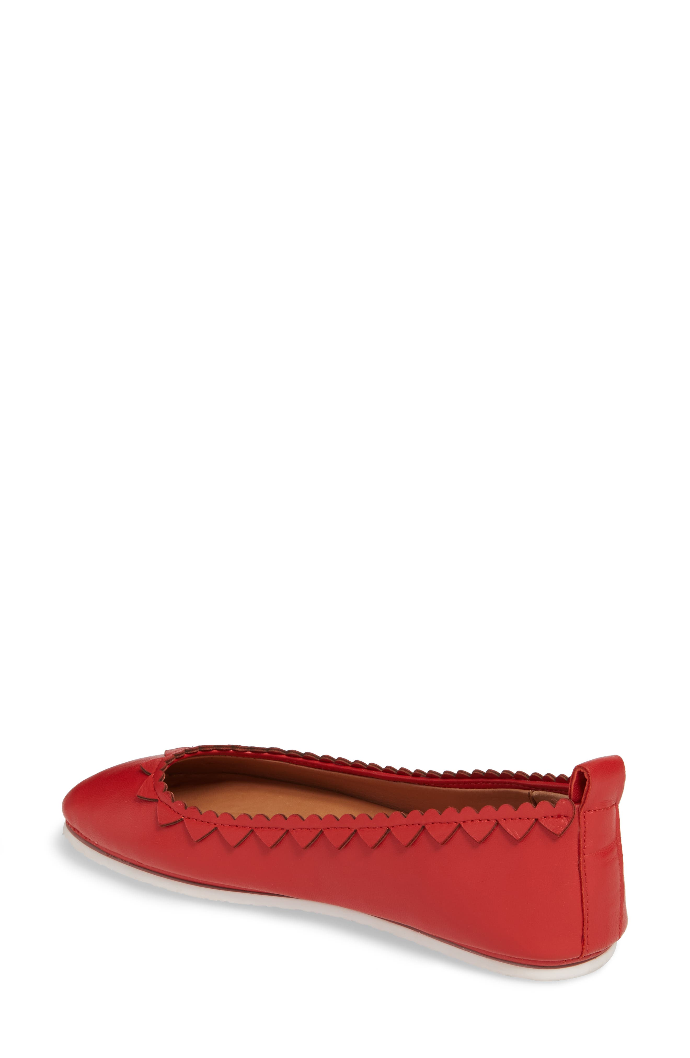 by Kenneth Cole Dana Hearts Flat,                             Alternate thumbnail 2, color,                             600