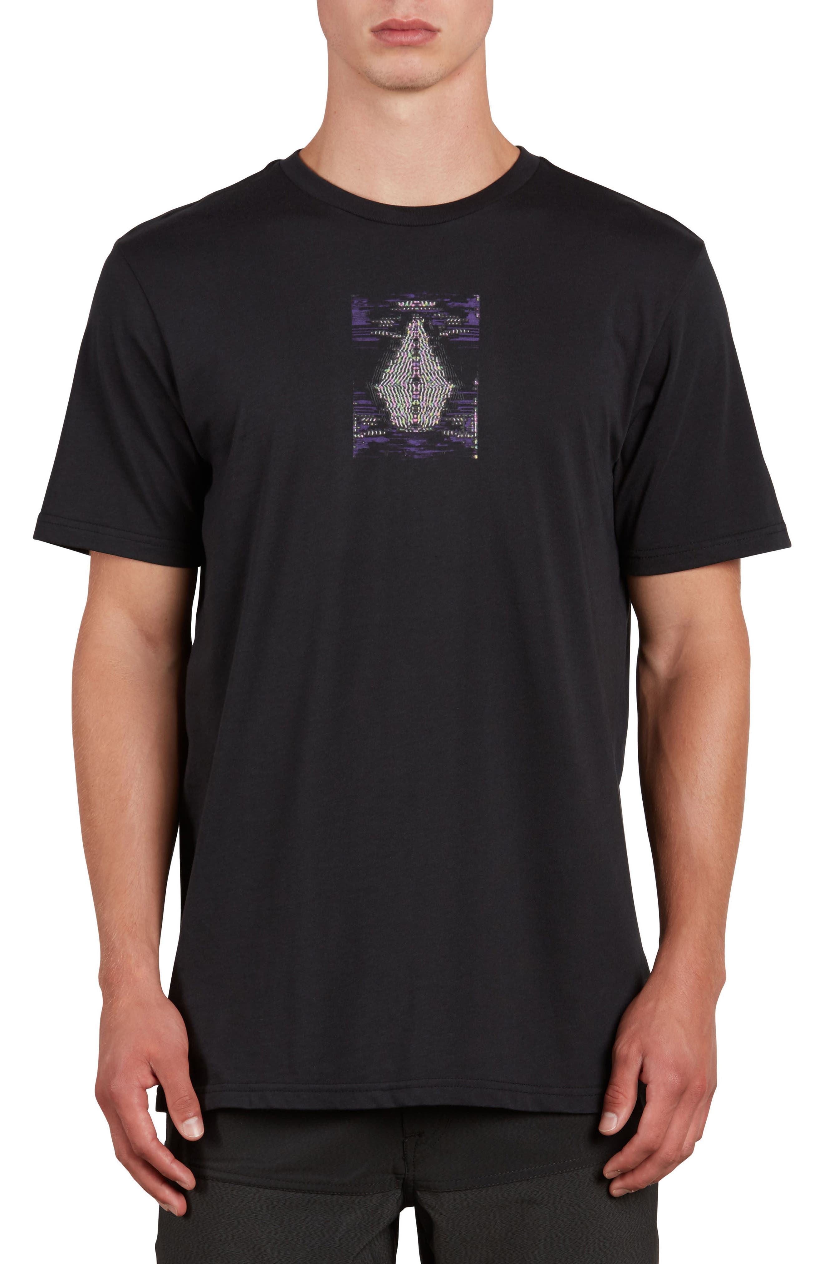 VOLCOM Digi Pool Graphic T-Shirt, Main, color, 001