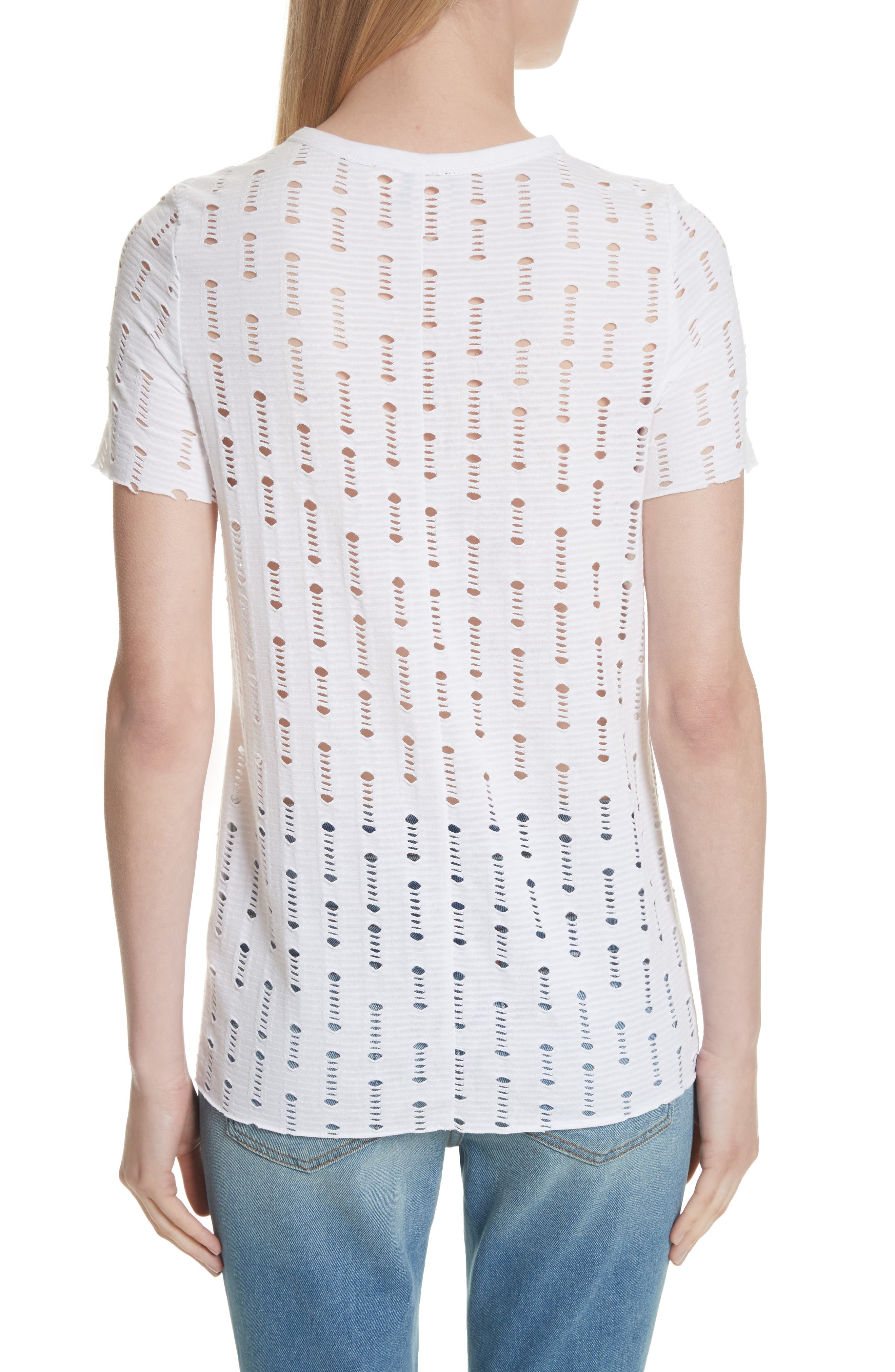 Perforated Tee,                             Alternate thumbnail 2, color,                             100