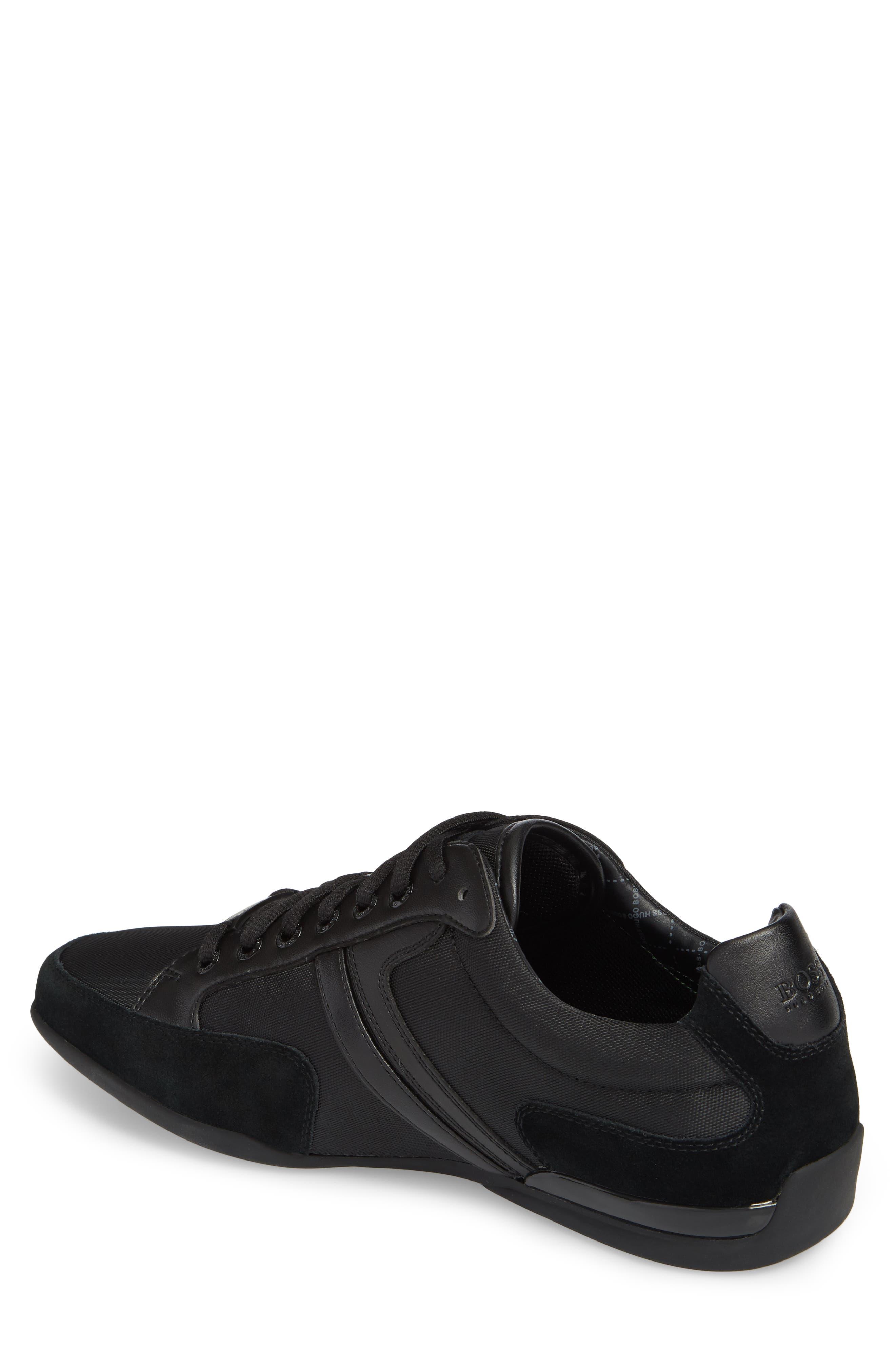 BOSS,                             Hugo Boss Sneaker,                             Alternate thumbnail 2, color,                             001