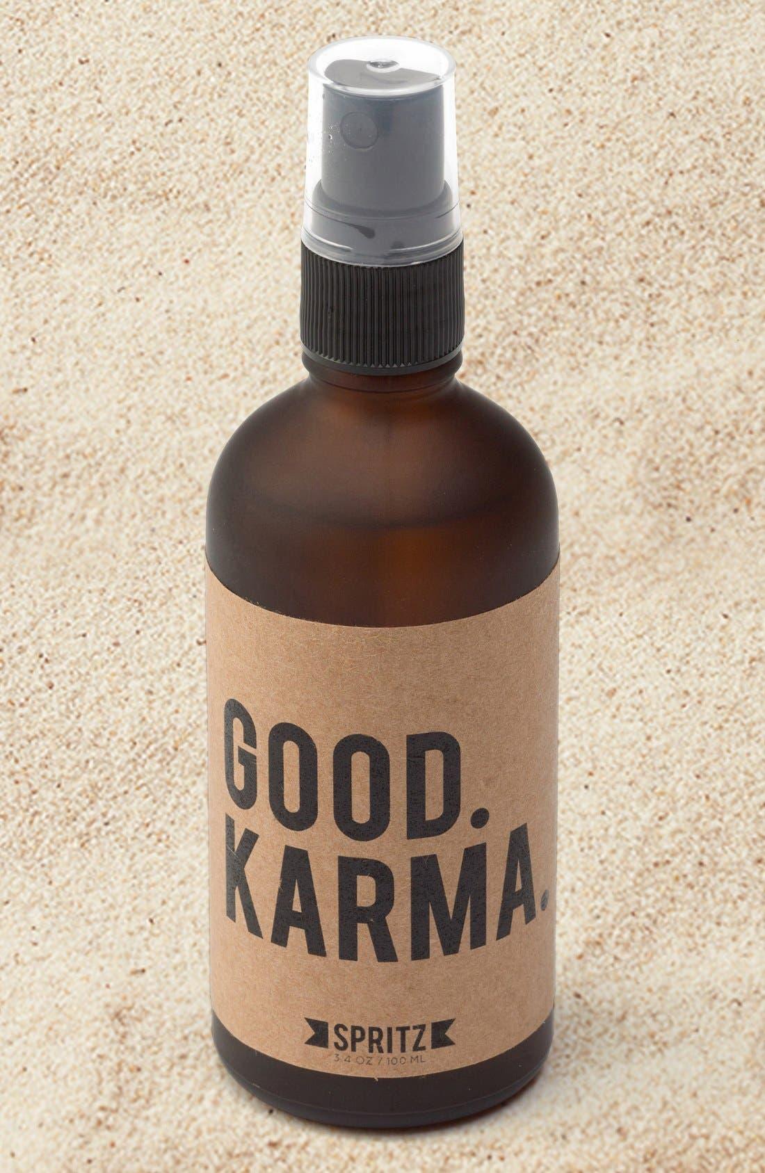 'Good Karma' Aromatherapy Facial Spray,                             Main thumbnail 1, color,                             250