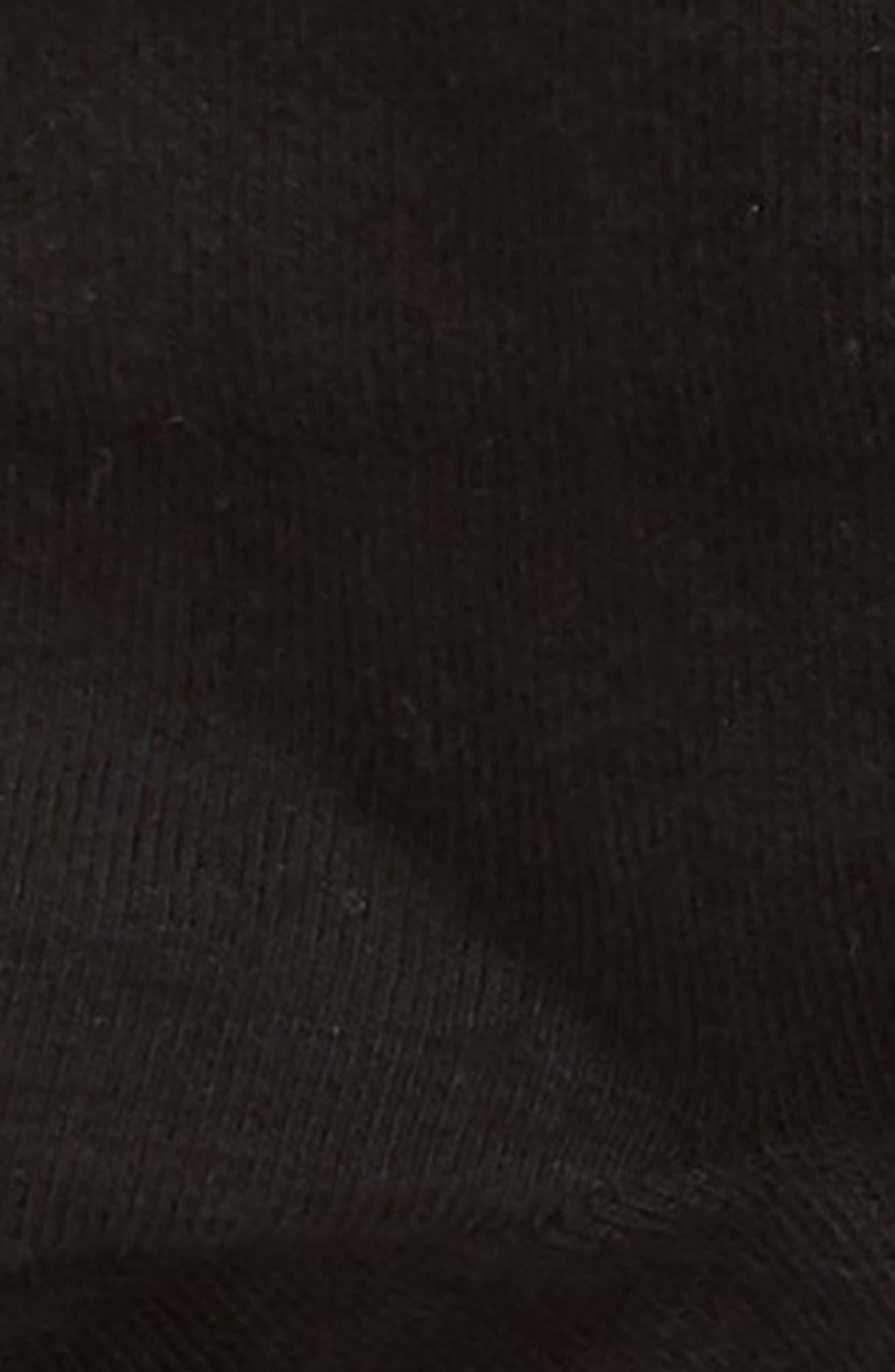 Everyday 3-Pack Ankle Socks,                             Alternate thumbnail 2, color,                             BLACK