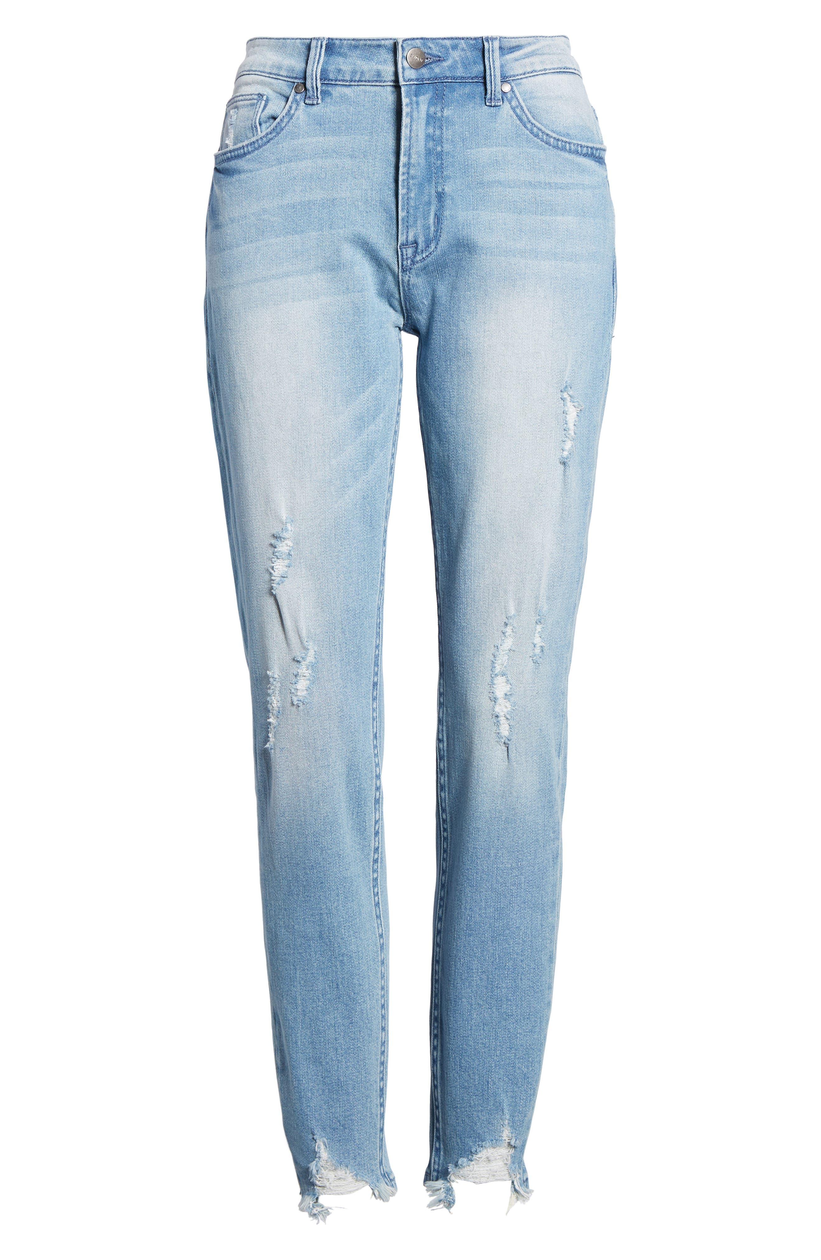 Verona Skinny Jeans,                             Alternate thumbnail 7, color,                             403