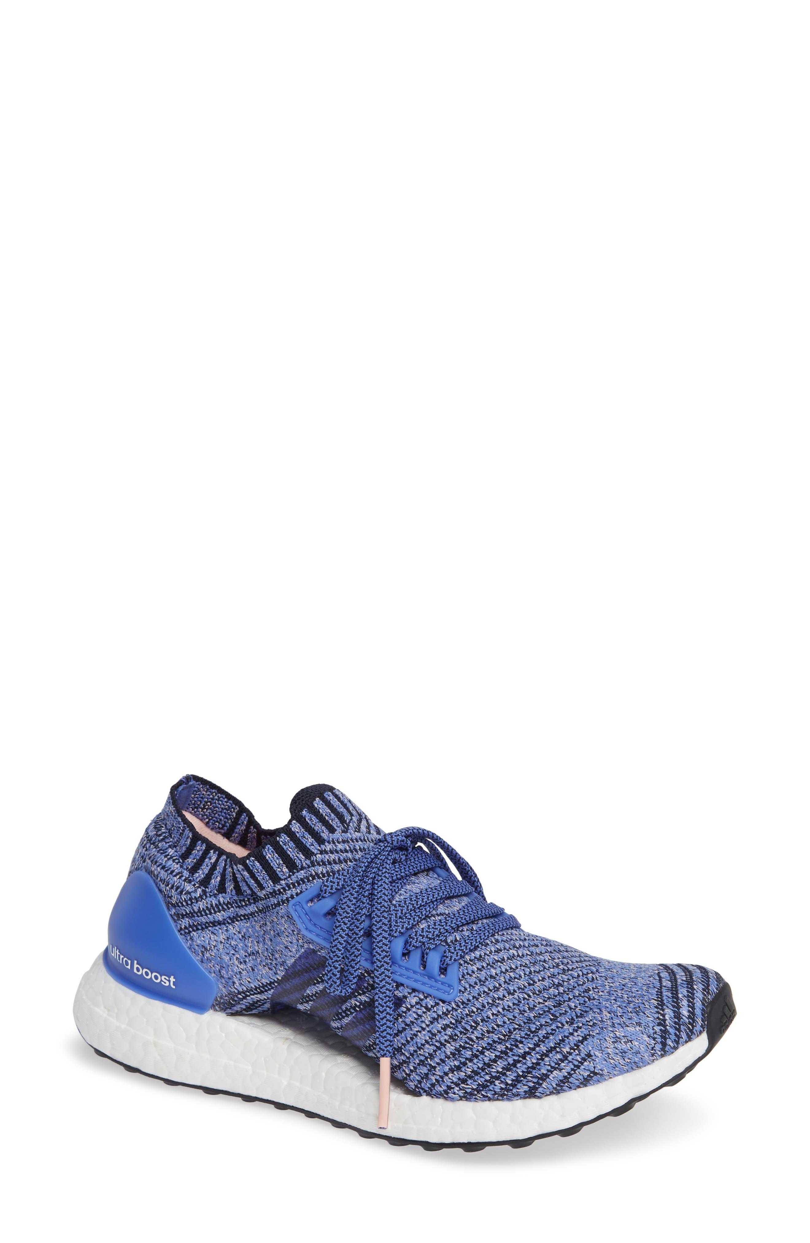 UltraBoost X Running Shoe,                         Main,                         color, REAL LILAC/ LEGEND INK/ BLACK
