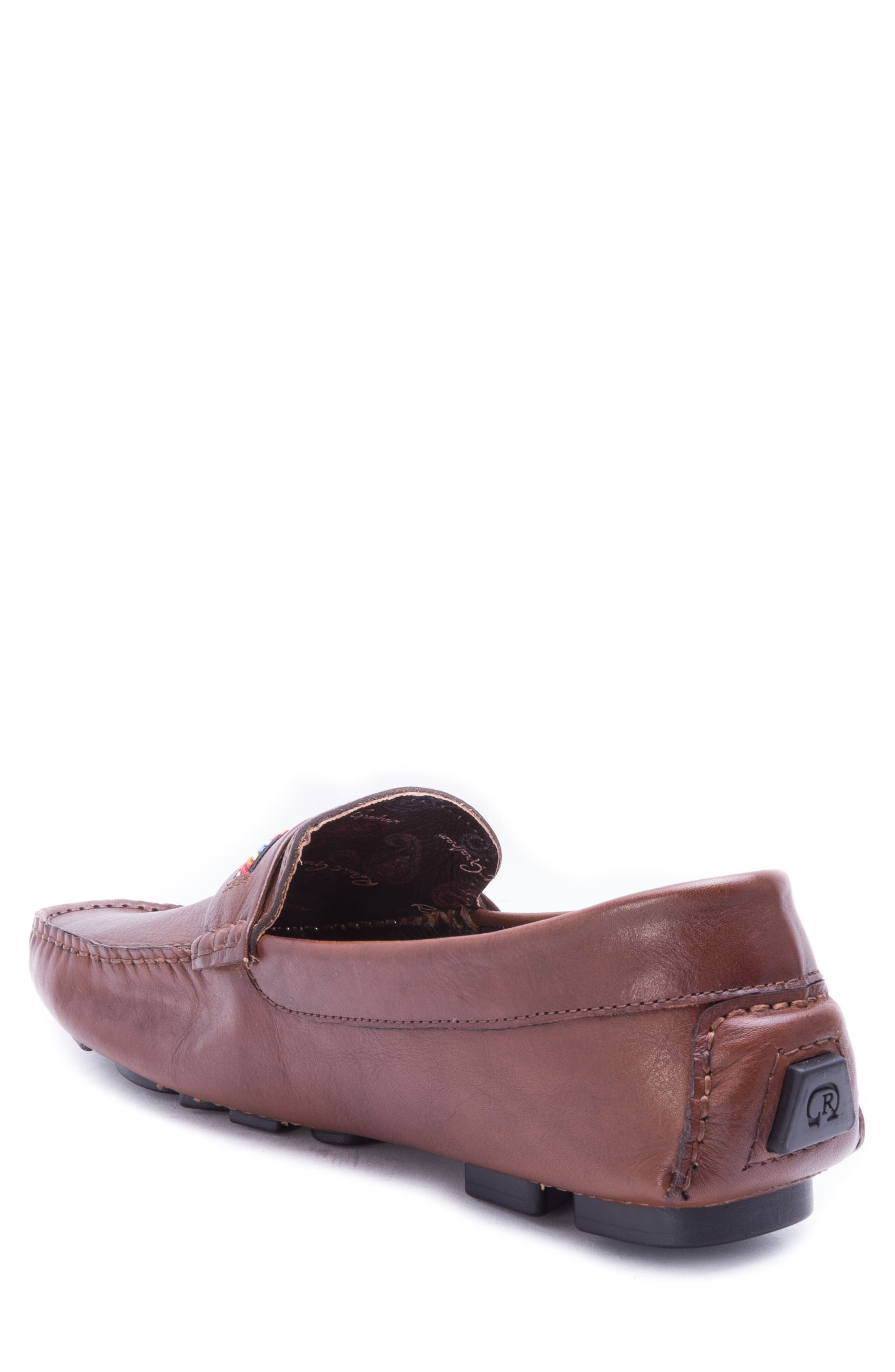 Hart Driving Moccasin,                             Alternate thumbnail 2, color,                             COGNAC LEATHER