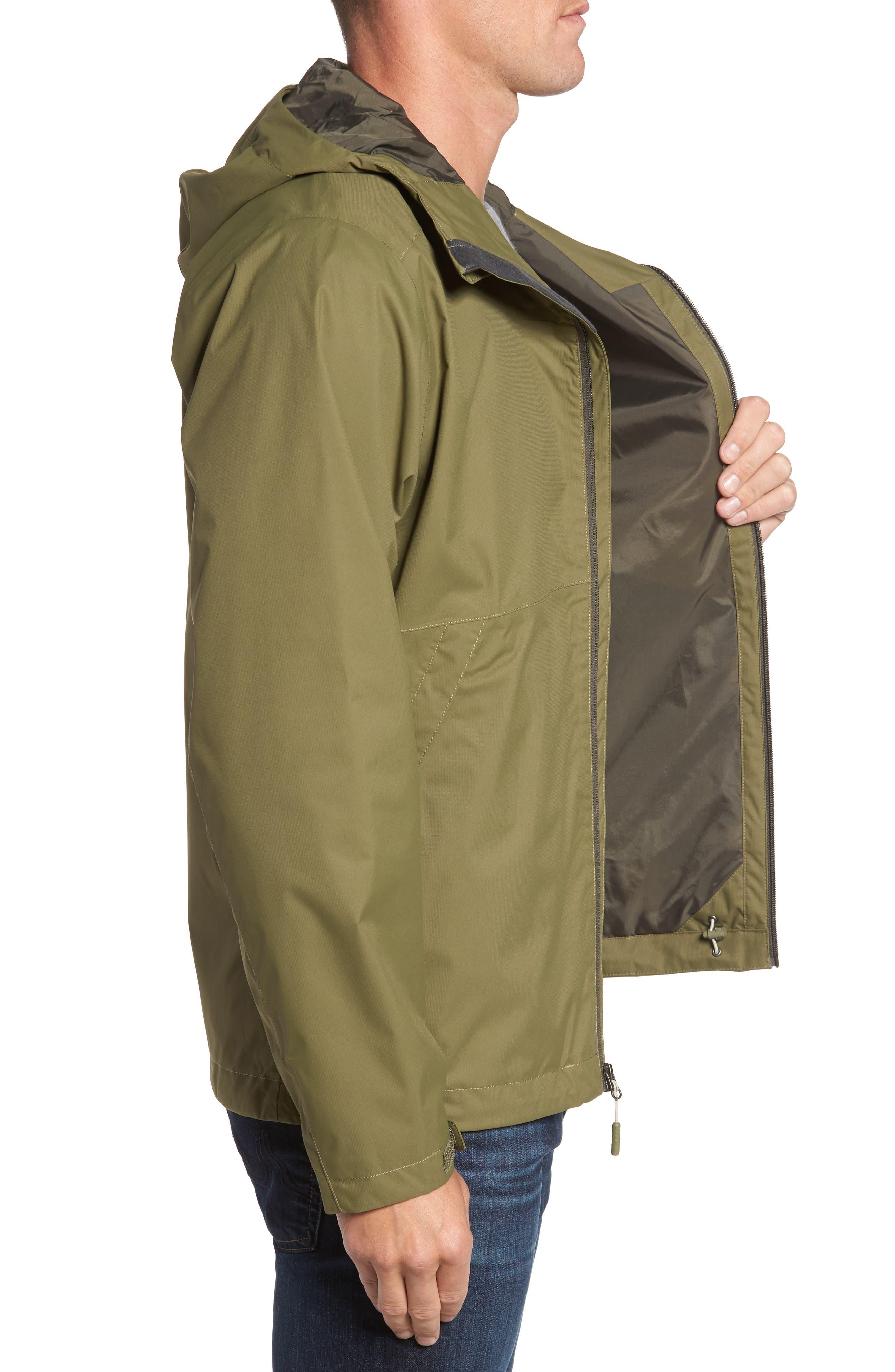 'Millerton' DryVent<sup>®</sup> Waterproof Hooded Jacket,                             Alternate thumbnail 3, color,                             305