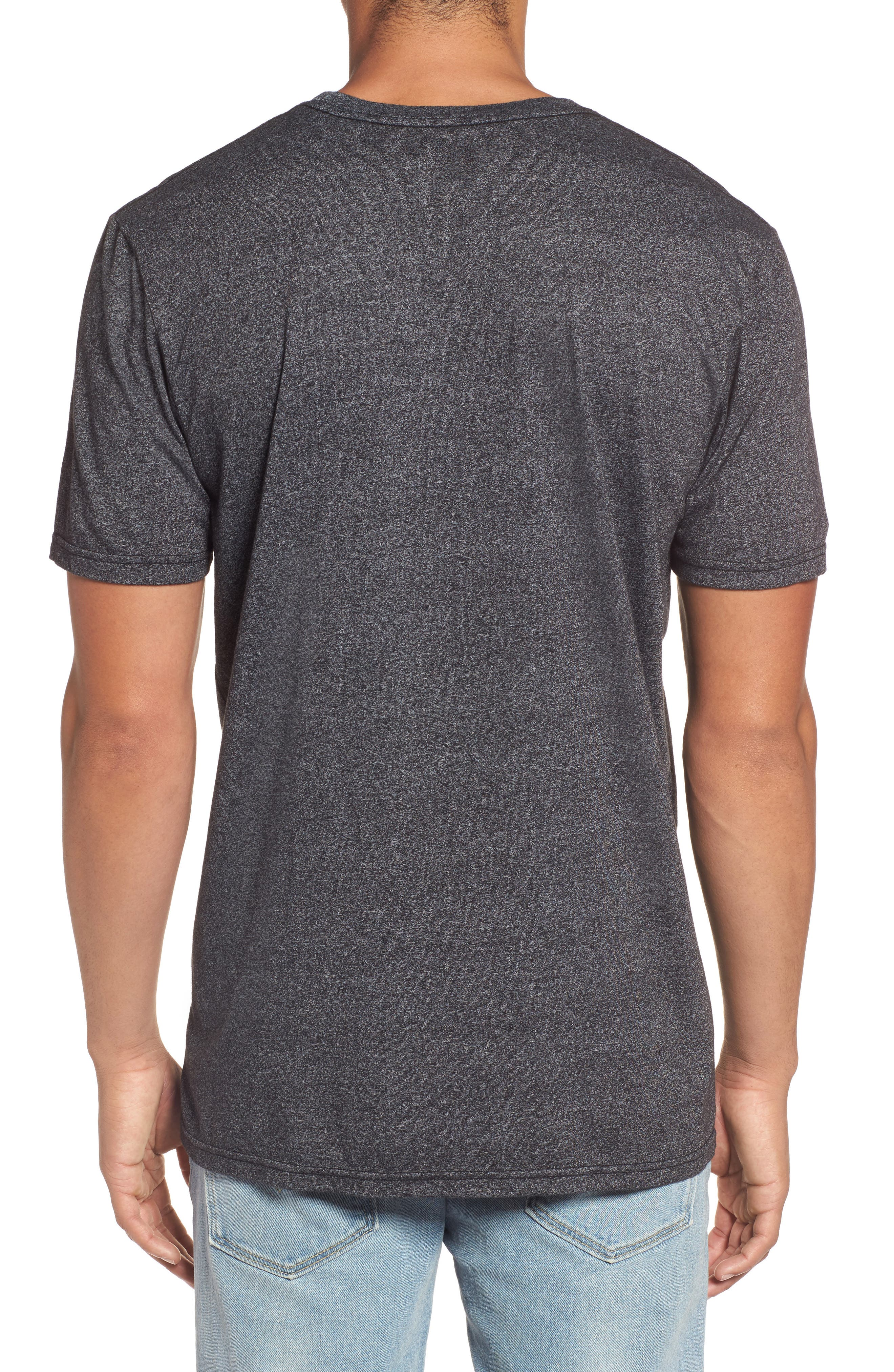 Bliss Mock Twist Graphic T-Shirt,                             Alternate thumbnail 2, color,                             001