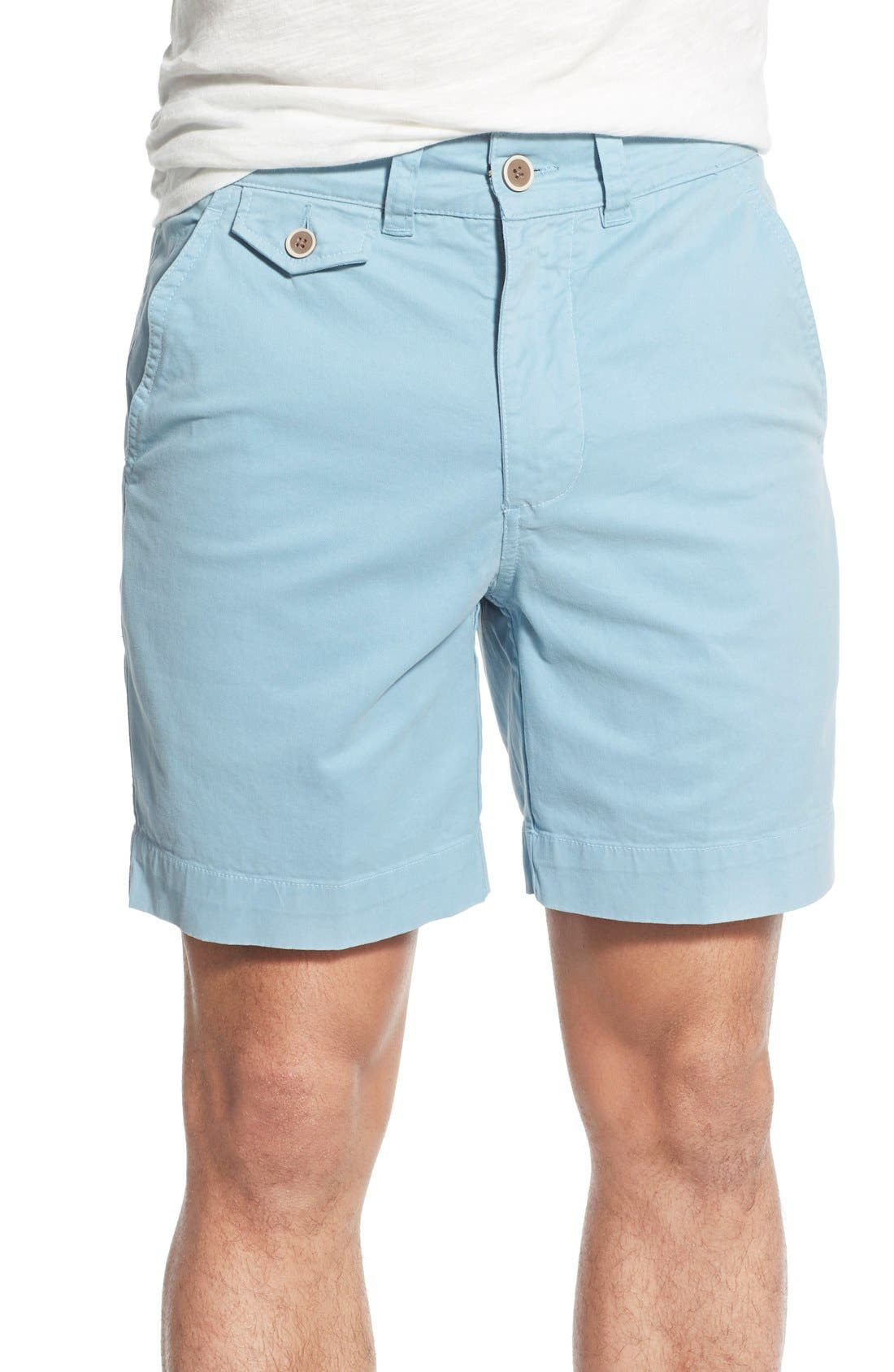'Sunny' Stretch Twill Chino Shorts,                             Main thumbnail 4, color,