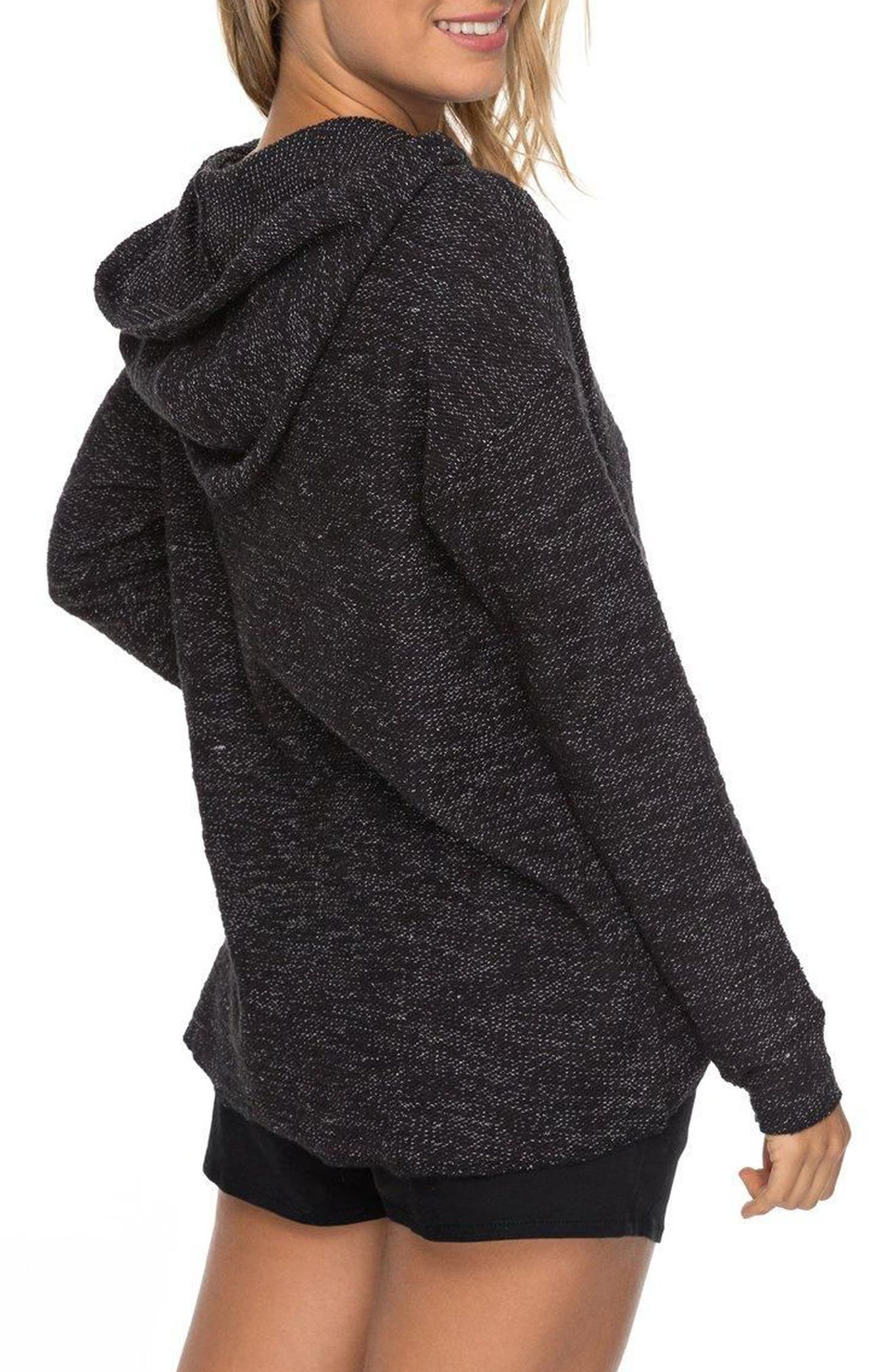 Crazy Waves Keyhole Hoodie,                             Alternate thumbnail 3, color,